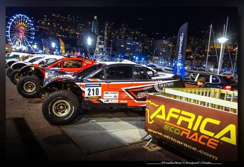 L'AFRICA ECO RACE, le plus grand Rallye Tout Terrain Africain, s'élancera depuis Monaco pour la 2ème fois consécutive.