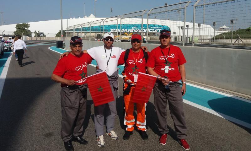 Quatre marocains au Grand Prix d'Abu Dahbi