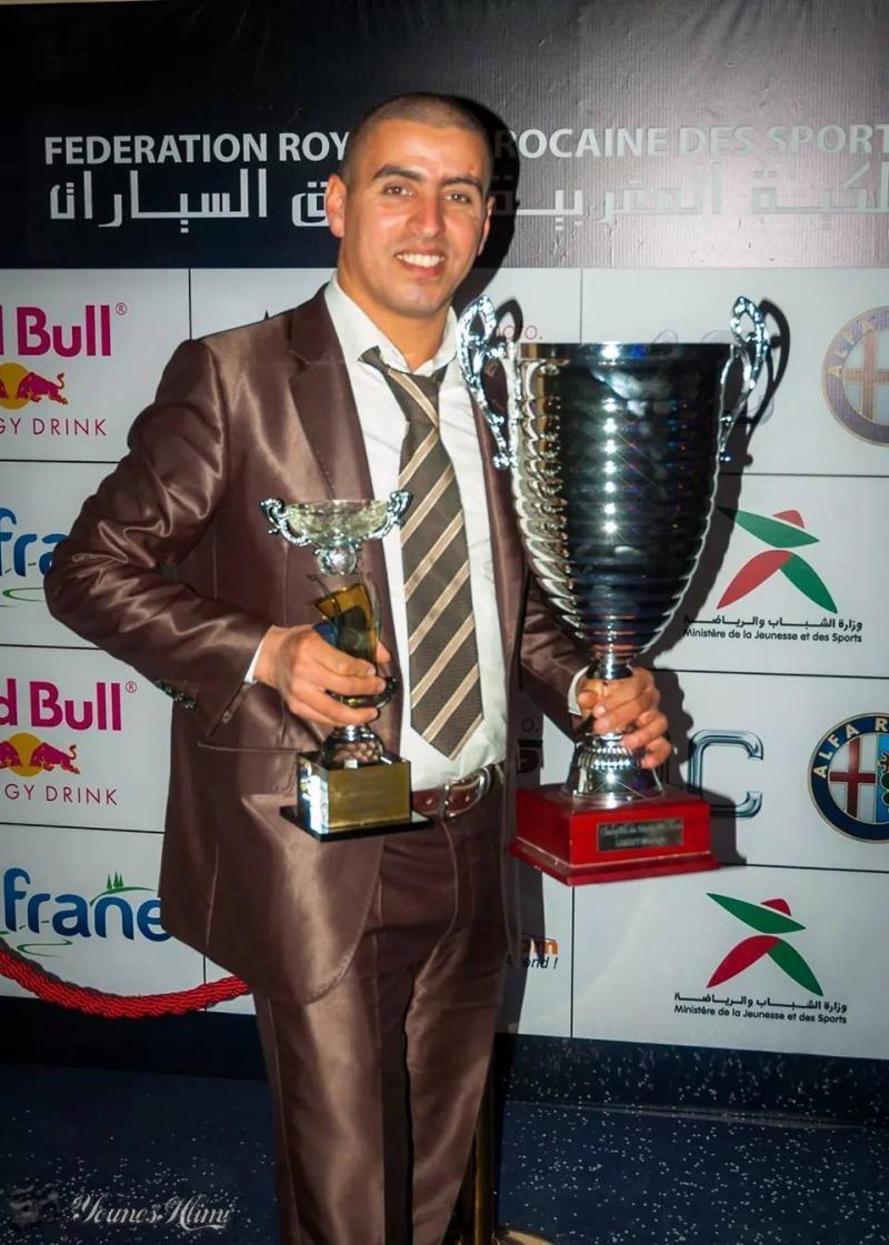 Moustafa Lebbat champion du Maroc 2016 en catégorie M1