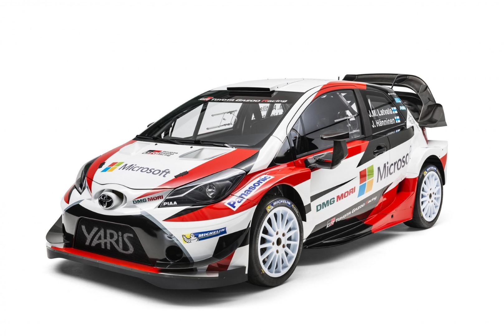 Jari-Matti Latvala sera au commande de la Toyota Yaris wrc 2017