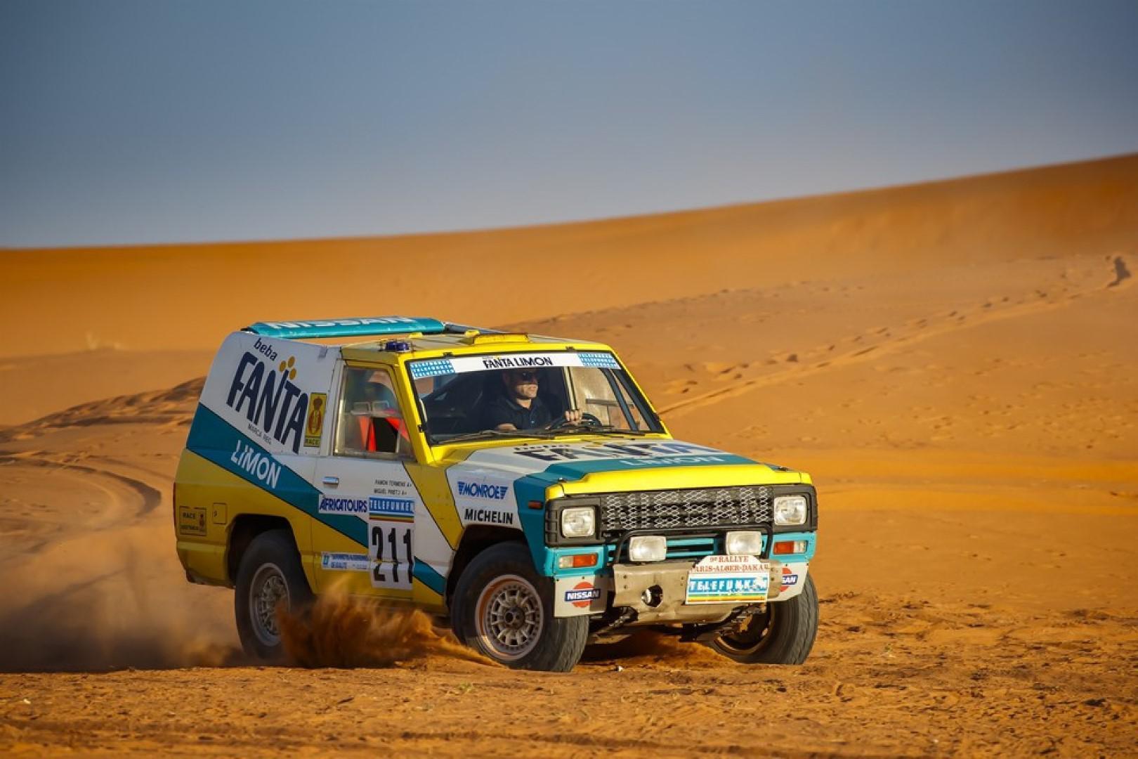 30 ans après, un Nissan Patrol ex-Dakar retrouve les dunes