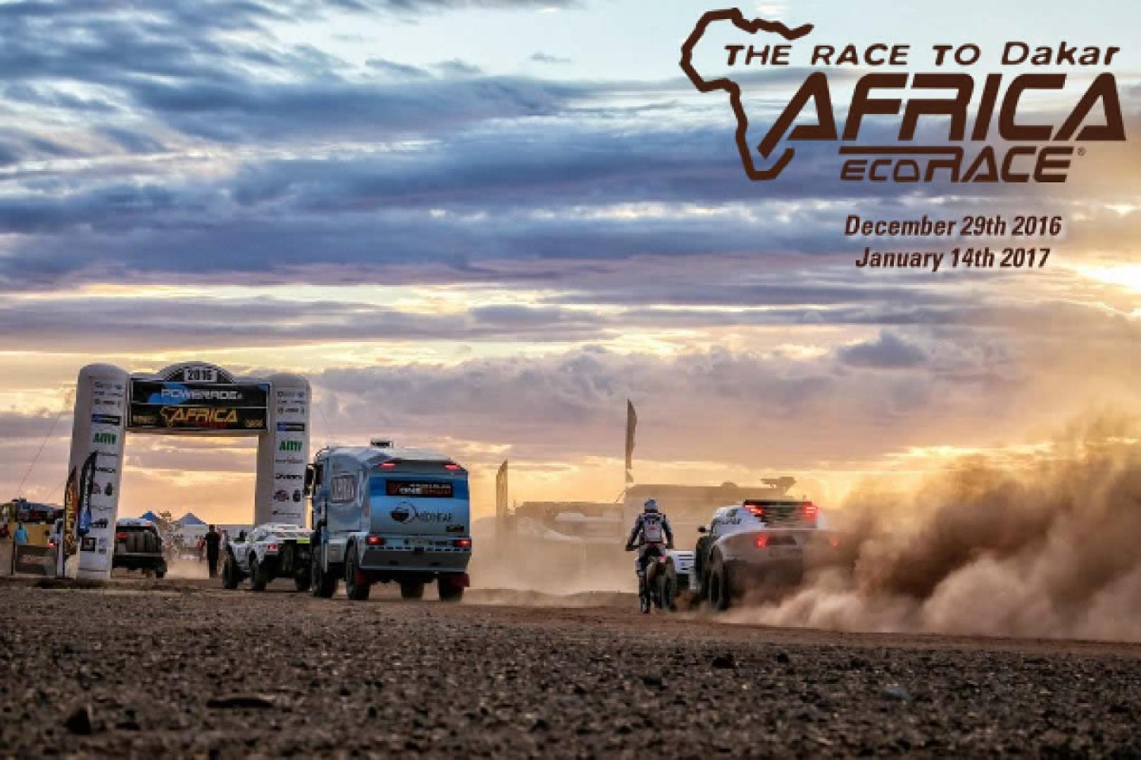 Départ de la 9ème édition de l'Africa Eco Race
