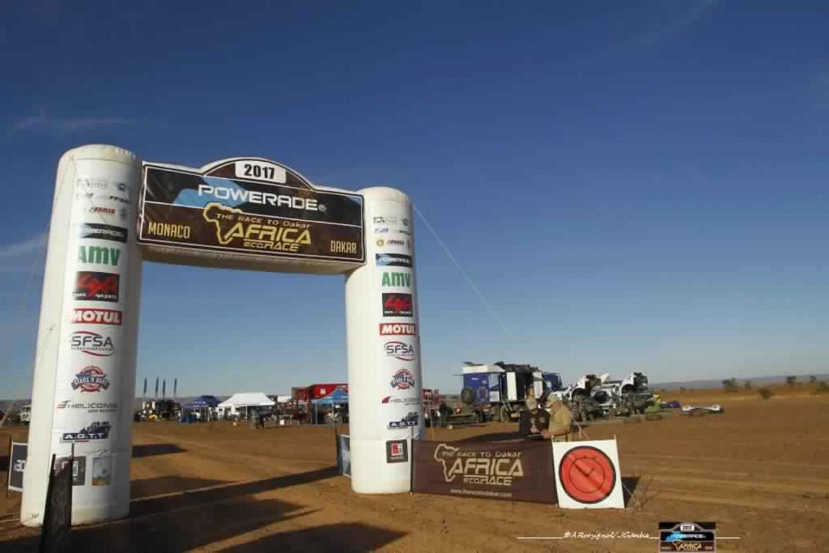 Africa Eco Race 2017:  Résultats de la troisième étape Marocaine.