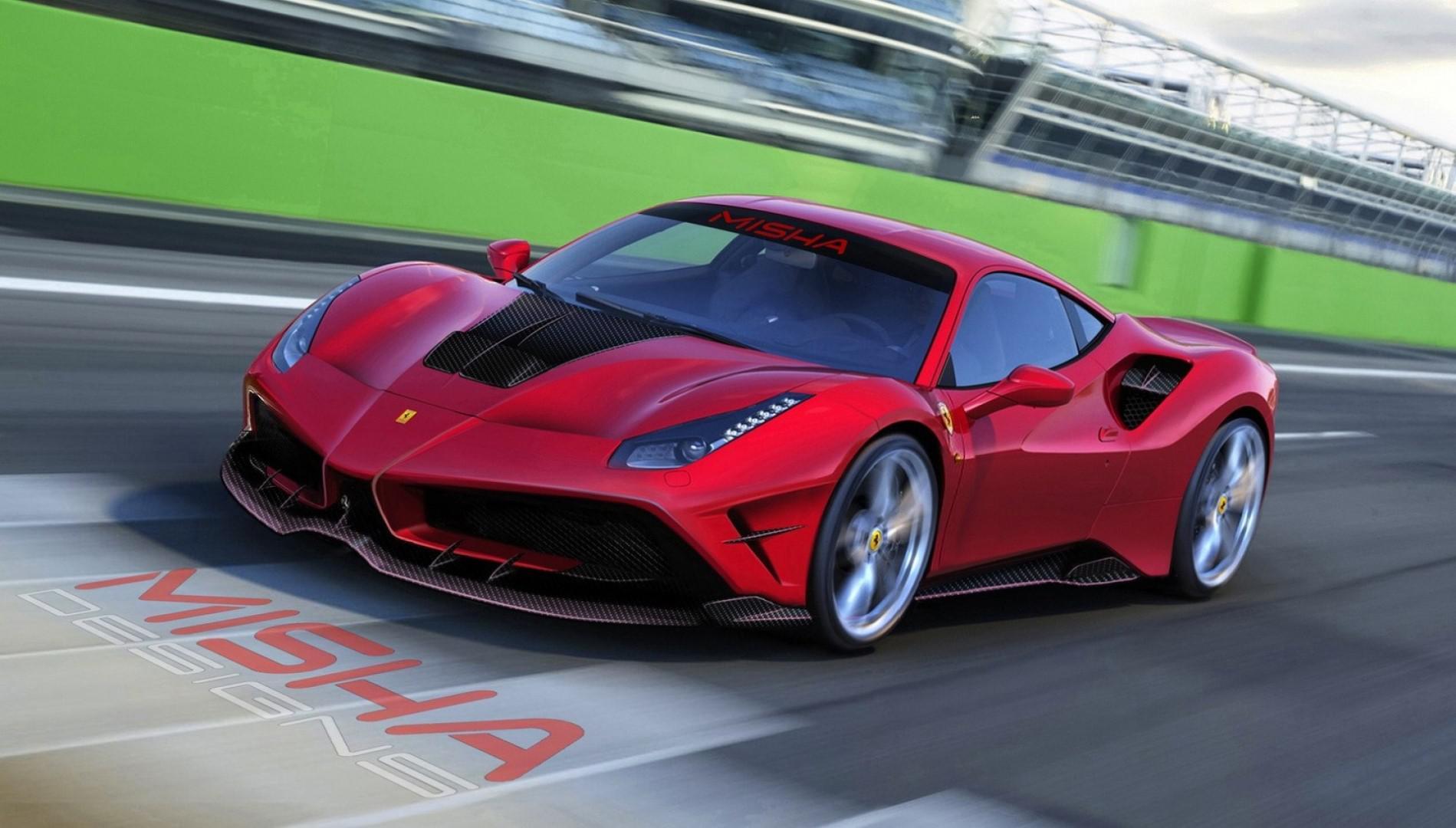 Misha Design présente ses kits carrosserie pour la Ferrari 488 GTB