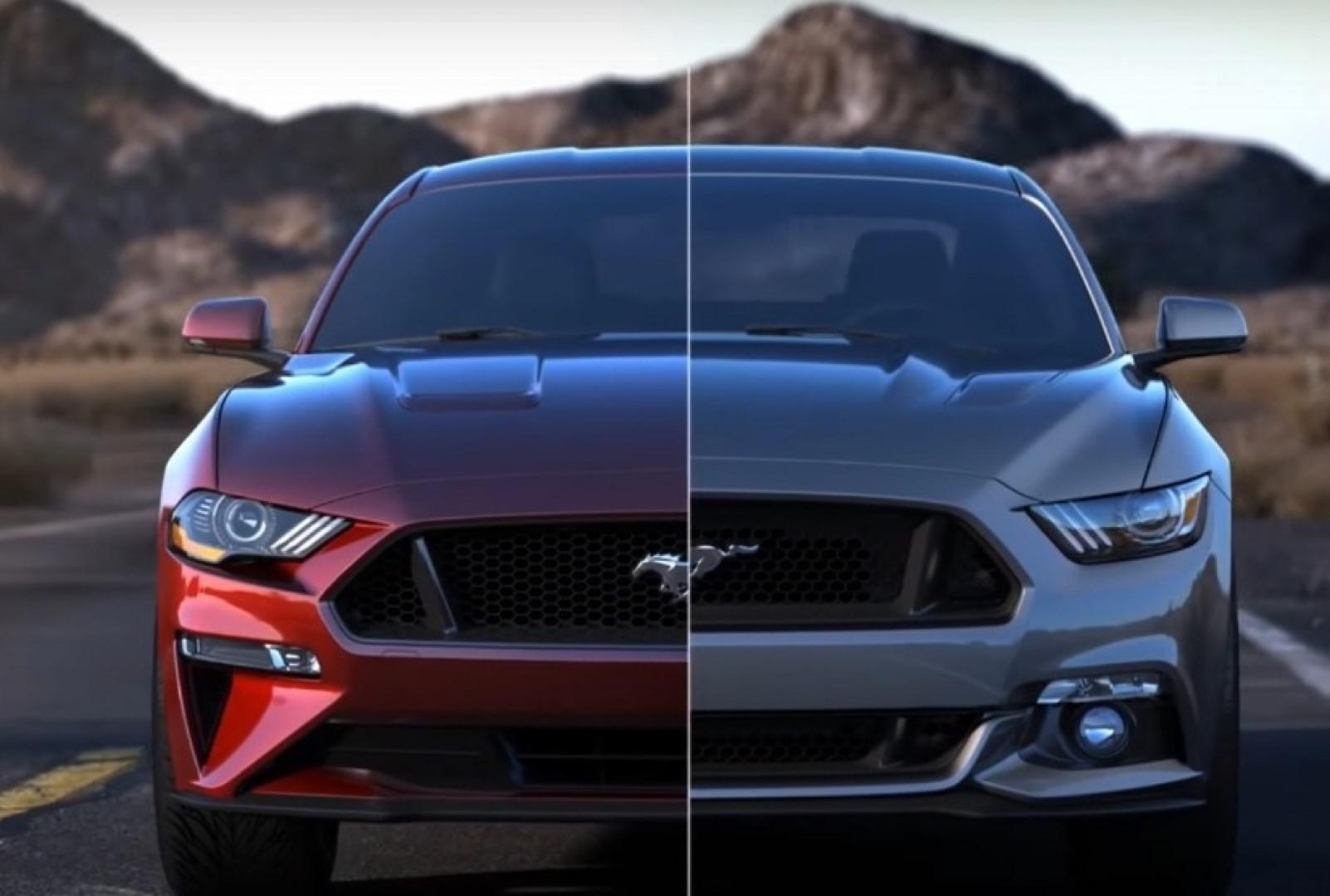 La Ford Mustang avant & après !