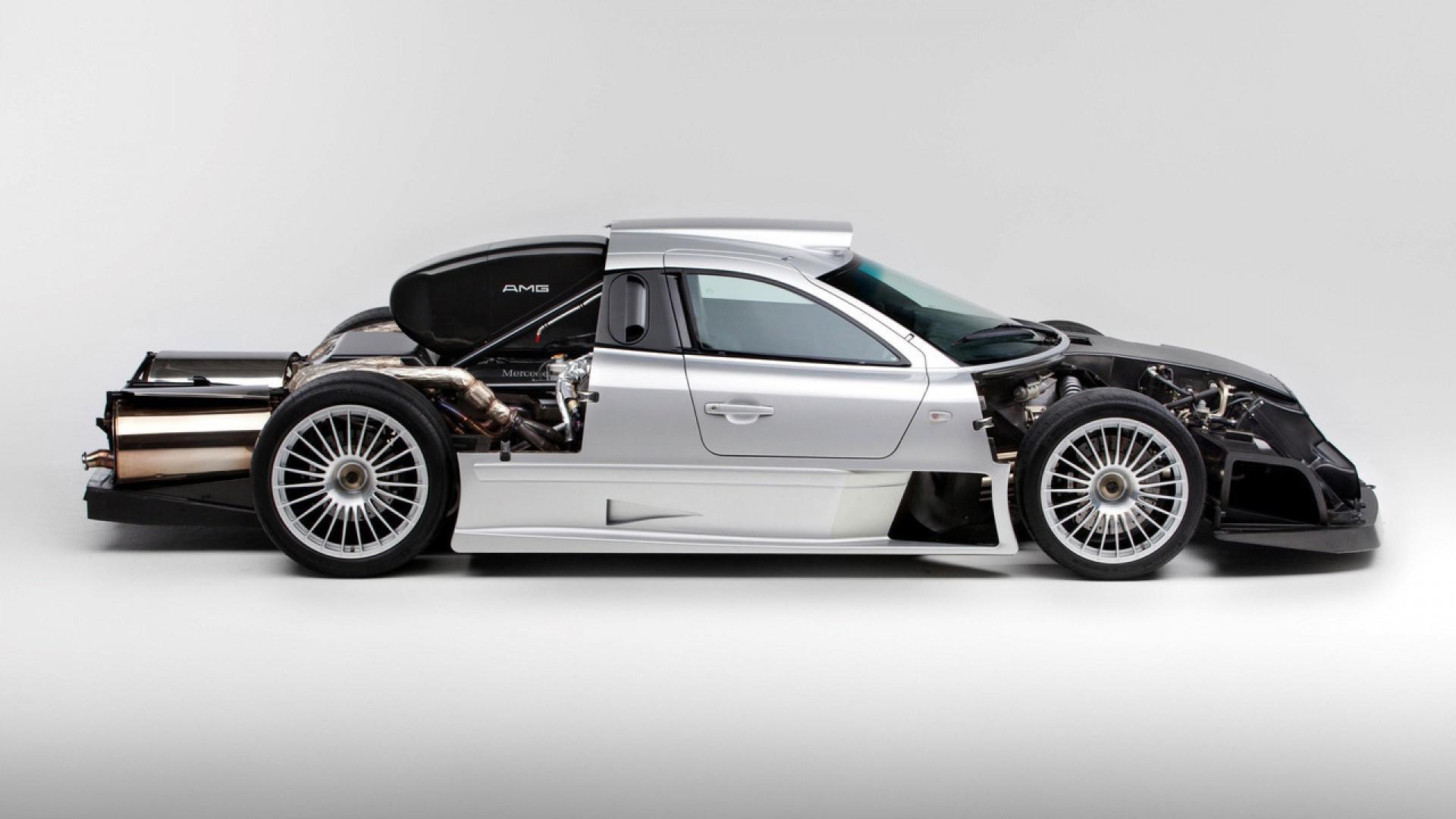 Supercar du weekend – La Mercedes CLK GTR