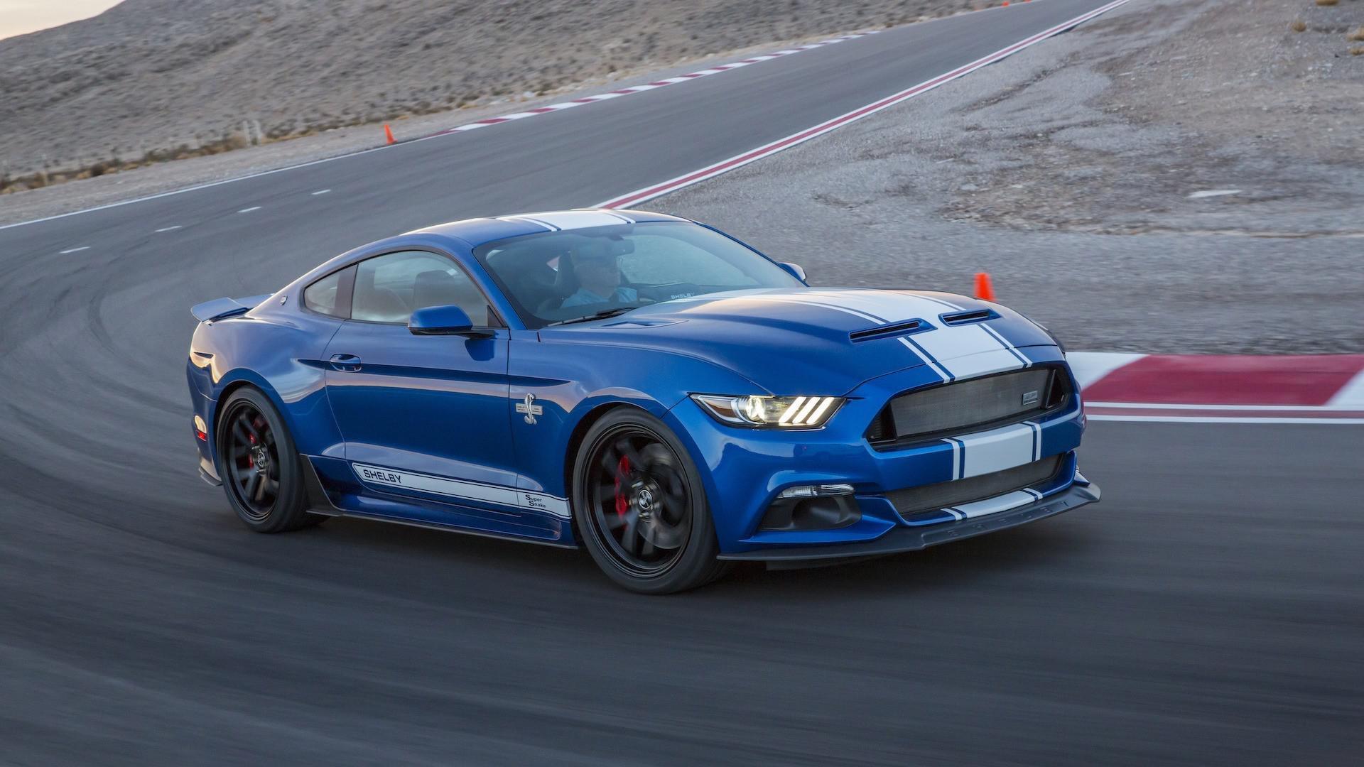 Shelby a dévoilé une version Super Snake de la Mustang de 750 chevaux pour fêter les 50 ans
