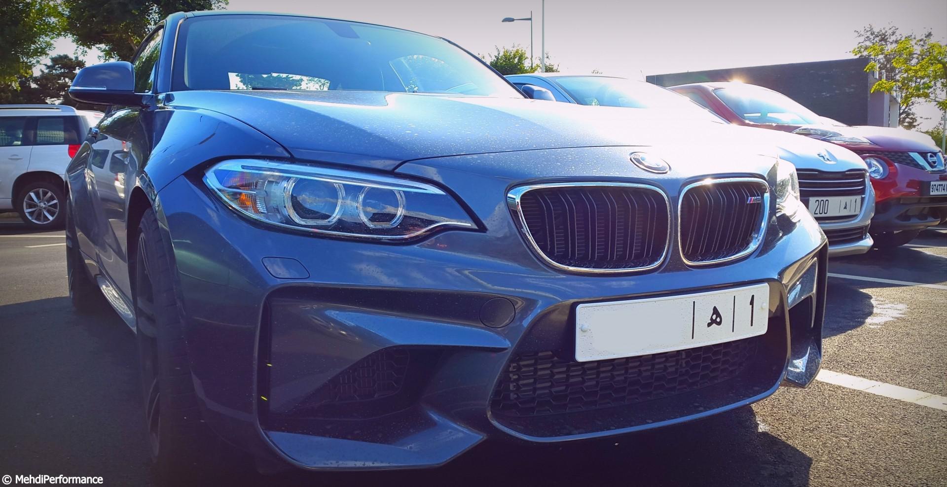 BMW M2 :bombe de 370 chevaux !