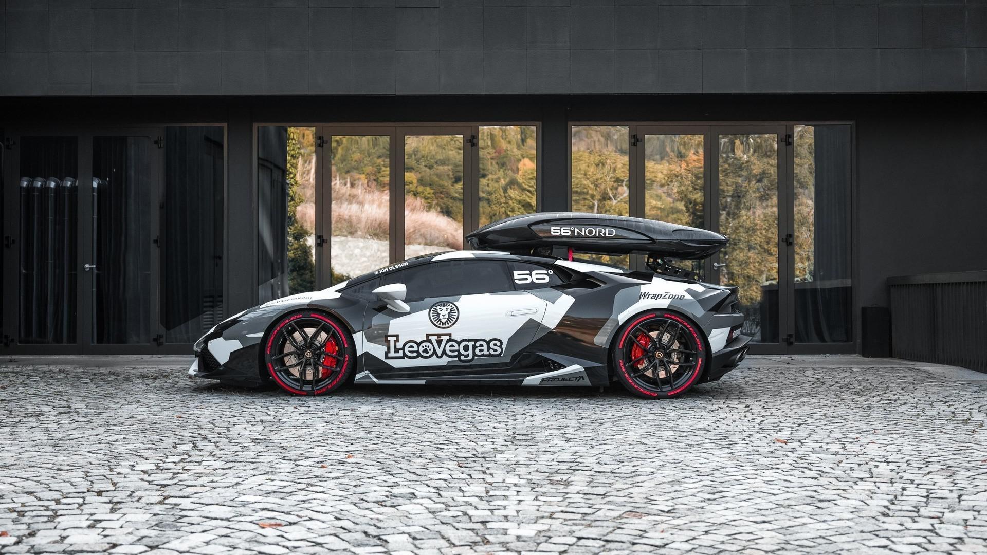 Lamborghini de Jon Olsson : Une bête de performance développant pas moins de 800 chevaux !