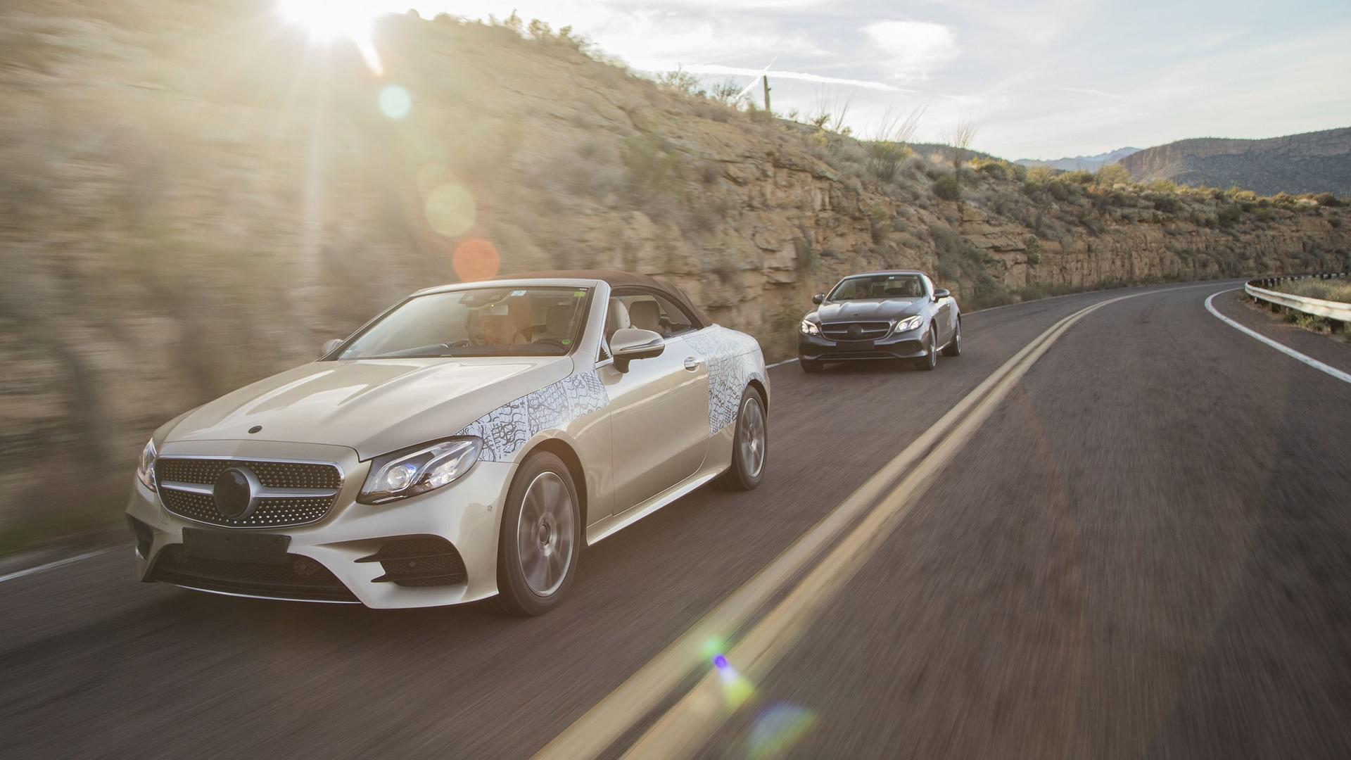 Mercedes révèle sa nouvelle Classe E Coupé Cabriolet(2018)
