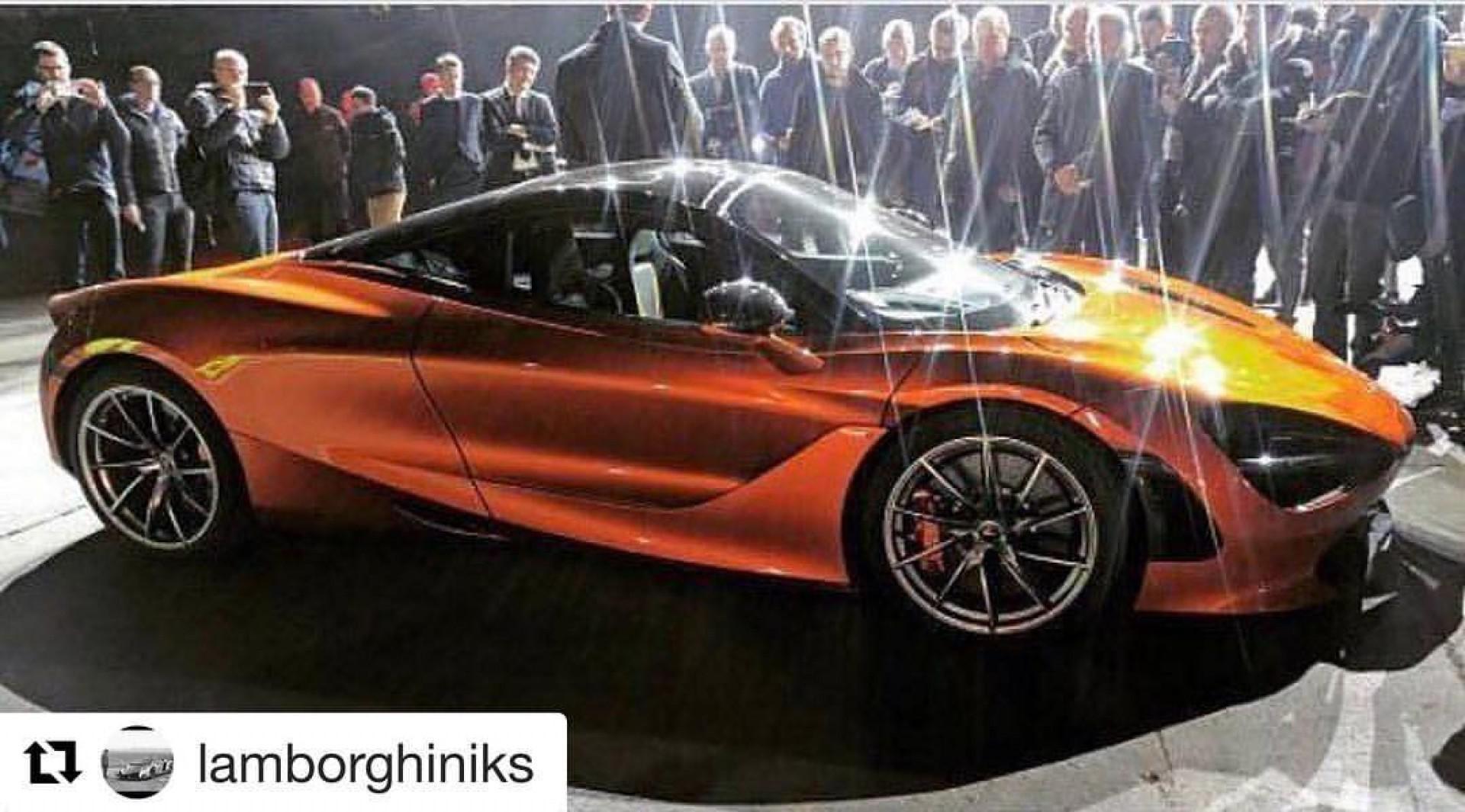 La future McLaren 720S 2017 déjà en photo ?