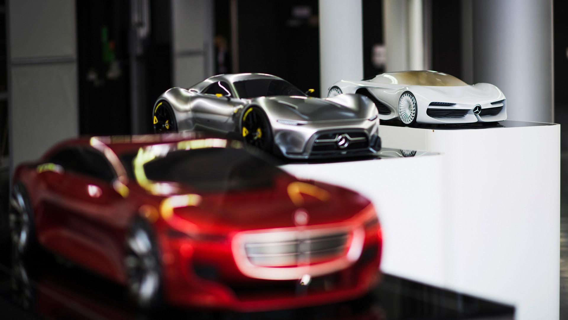 Les études de design hypercar Mercedes-AMG Project One