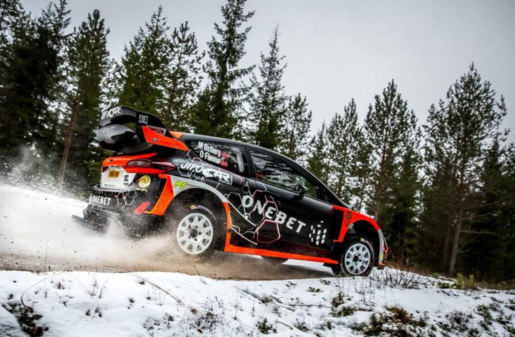 Rallye de Suède : Ostberg premier du shakedown