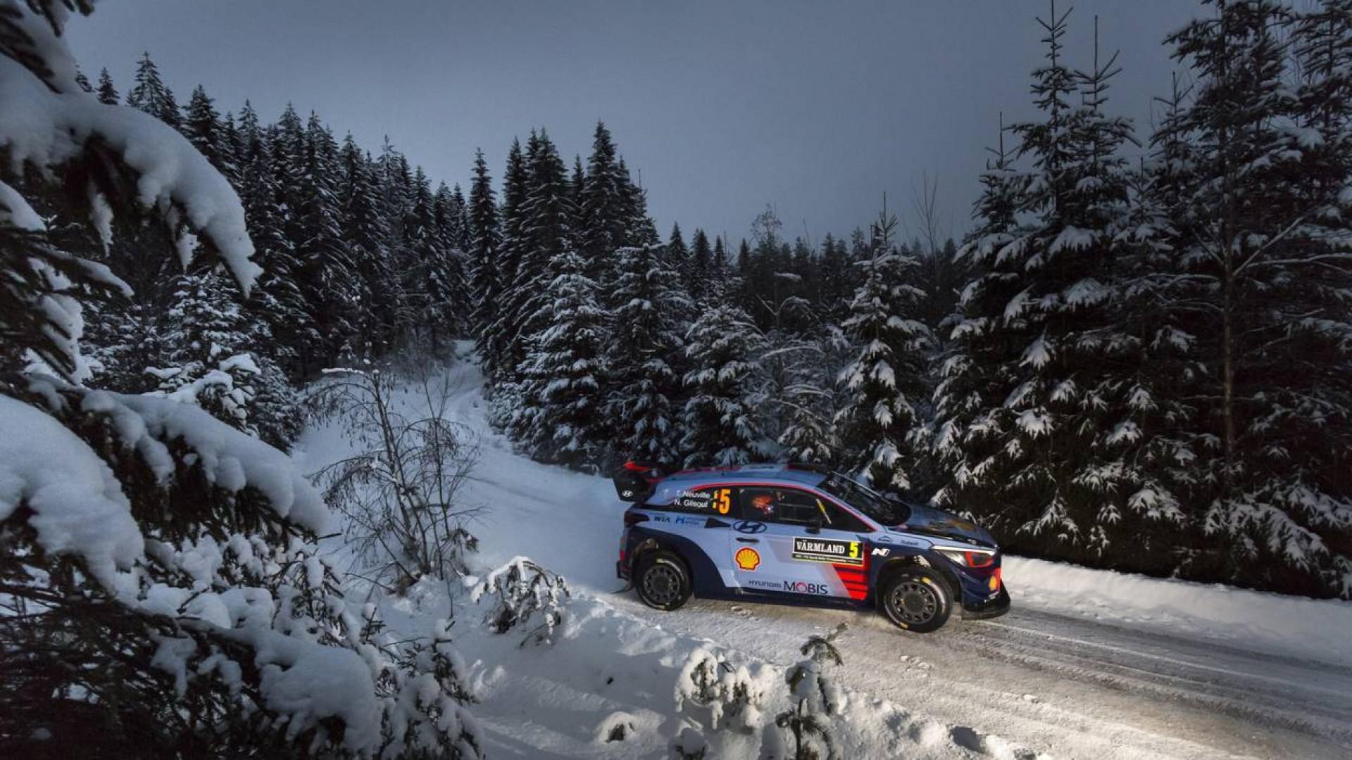 Rallye de suède : Thierry Neuville en tête