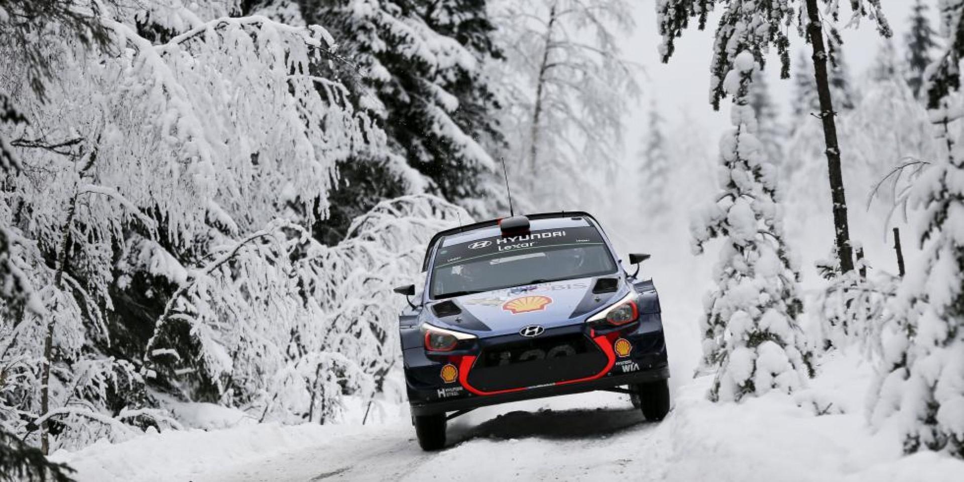 Rallye de suède : Thierry Neuville abandonne, Latvala en tête du classement