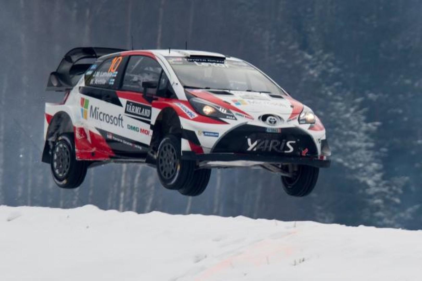 Rallye de suède : victoire de Latvala (Toyota)
