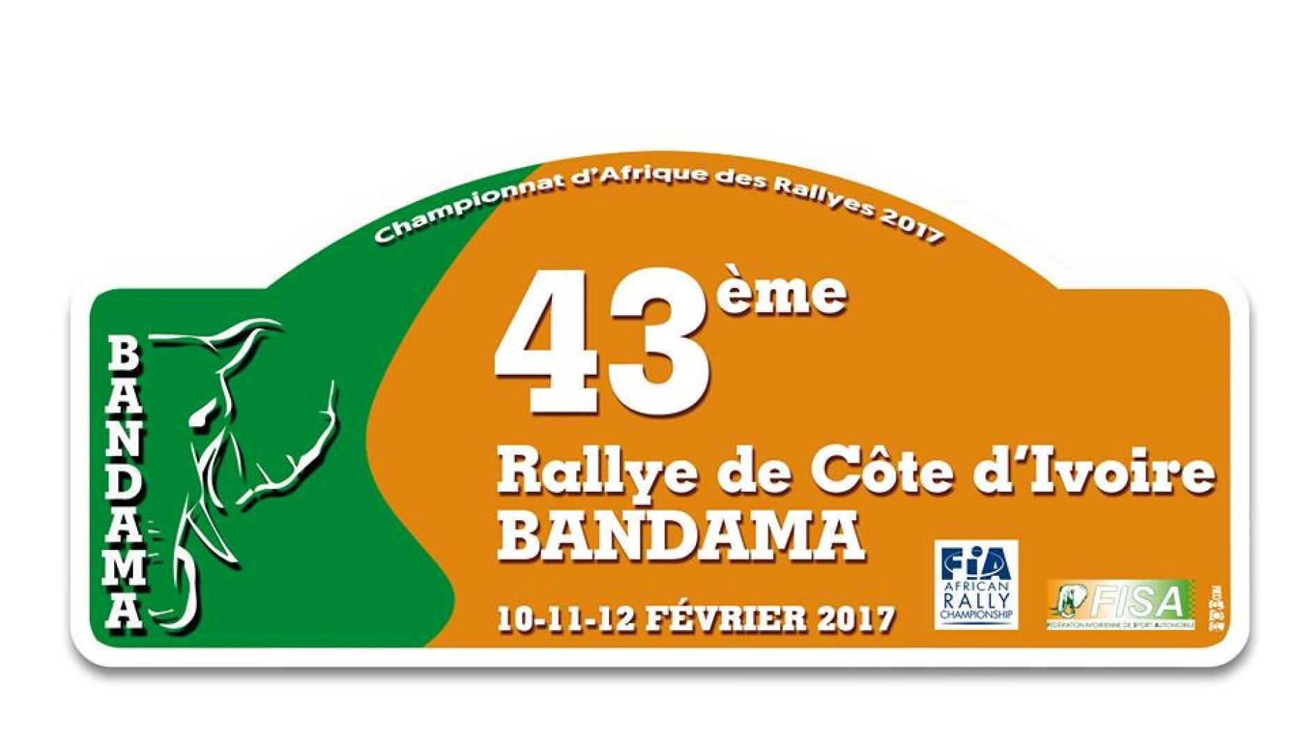 Victoire de Soumaoro Moriféré au Rallye Bandama,1ère manche du Championnat d'Afrique des Rallyes.