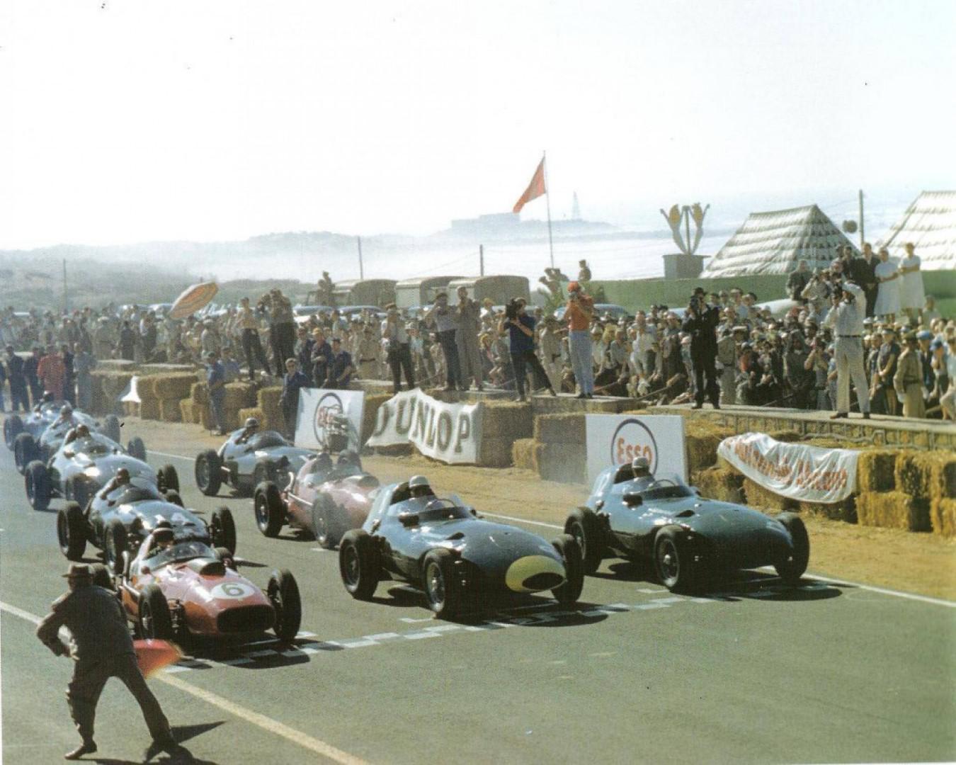 Départ du GP du MAROC 1958