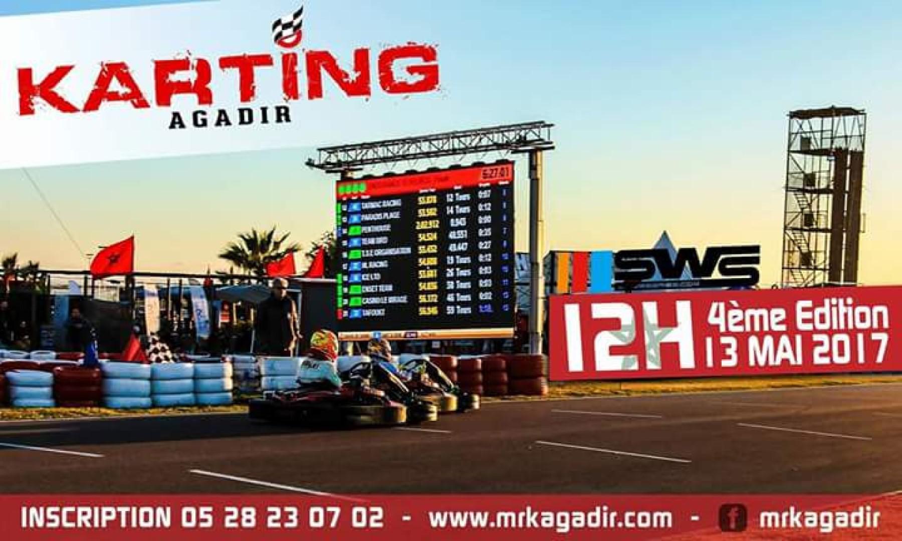 Endurance Karting, c'est parti pour la 4ème édition des 12H d'Agadir