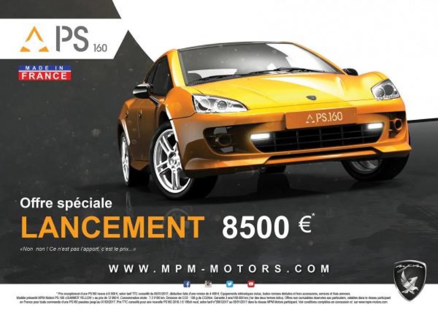 Connaissez-vous cette voiture française MPM SP160 ??