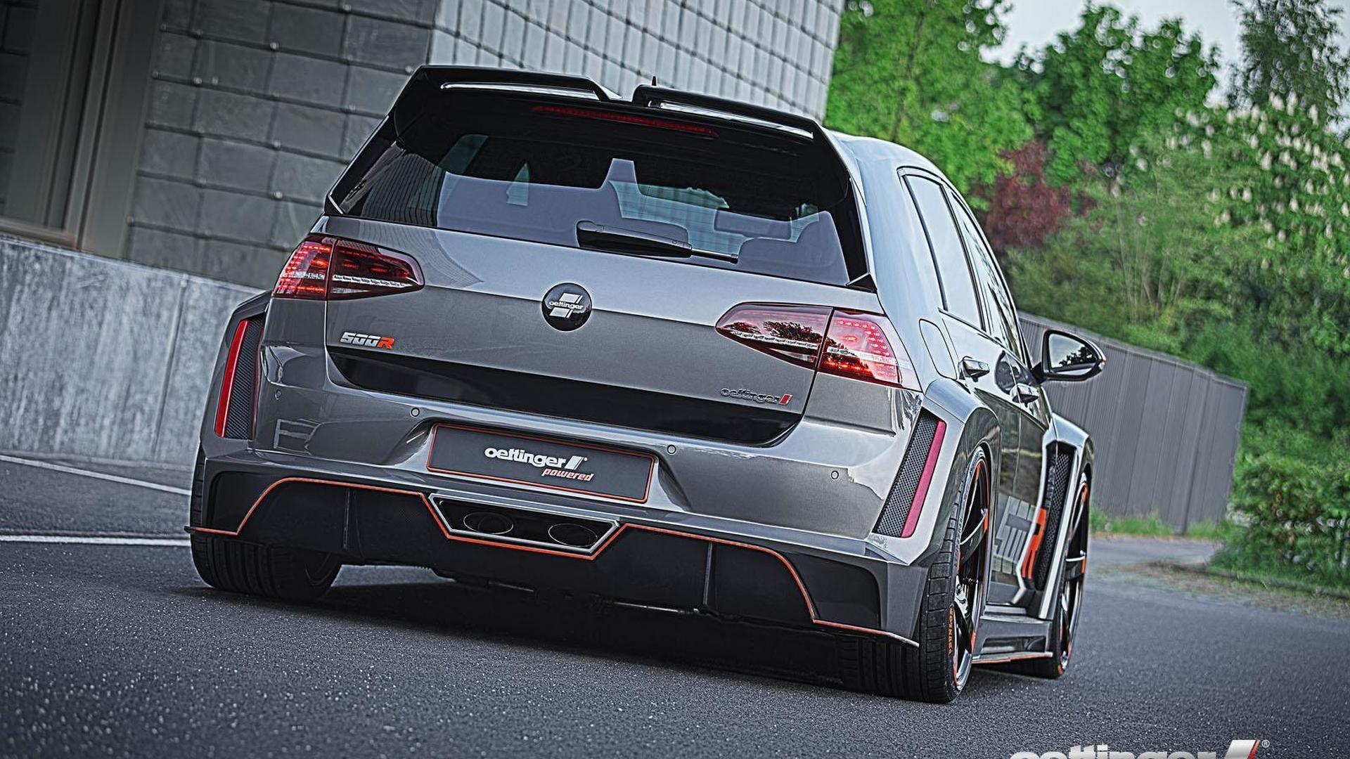 Une Volkswagen Golf de plus de 500 chevaux ?