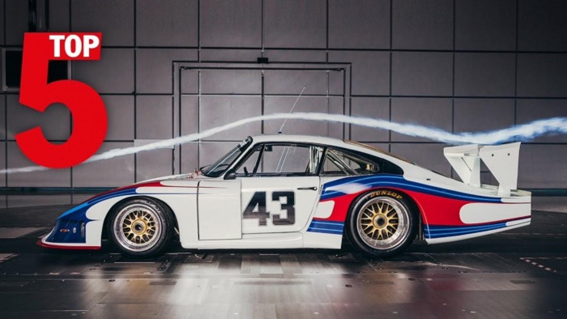 Le top 5 des créations les plus intéressantes en matière d'ailerons chez Porsche