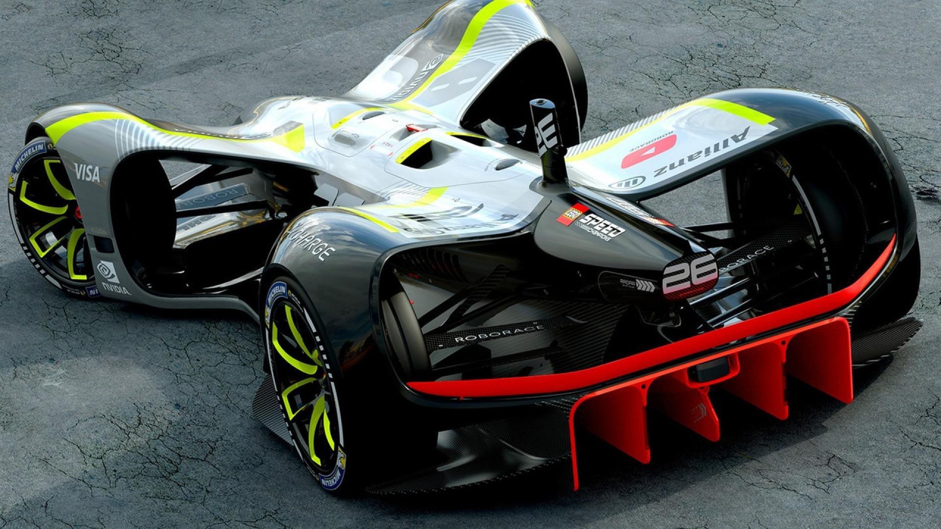 Robocar : la première voiture de course autonome de Roborace !