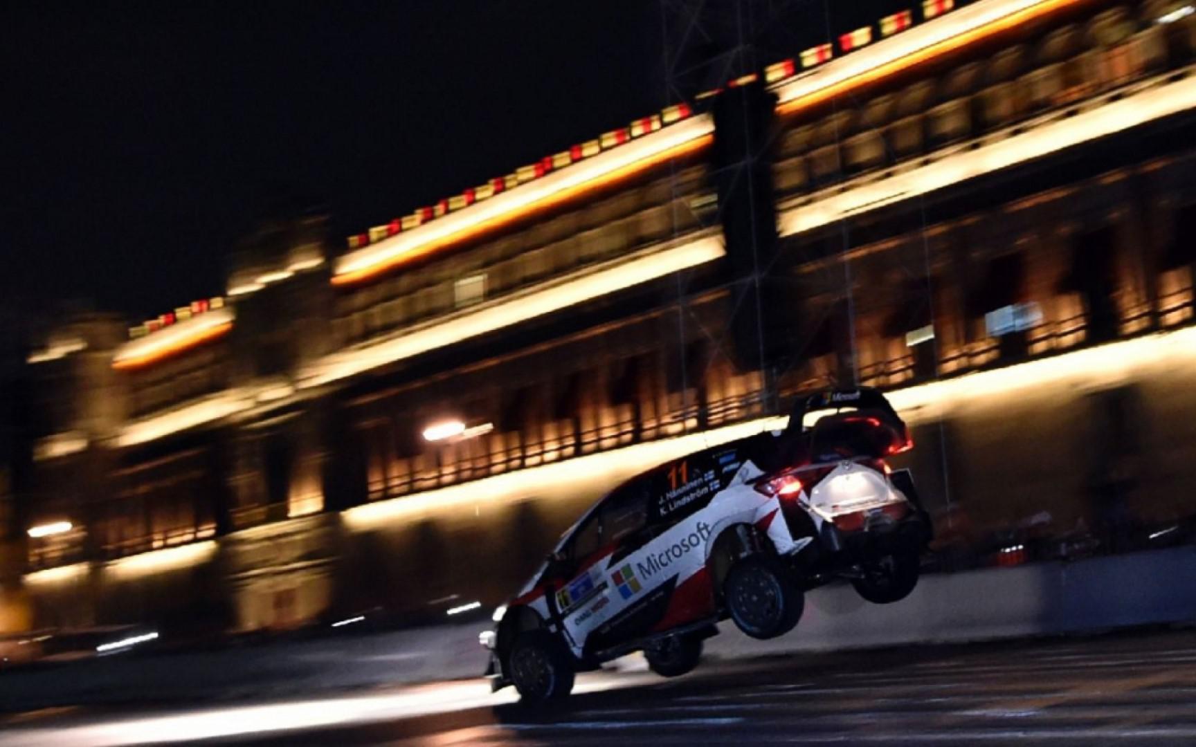 Rallye du Mexique : deuxième journée deux spéciale annulées.