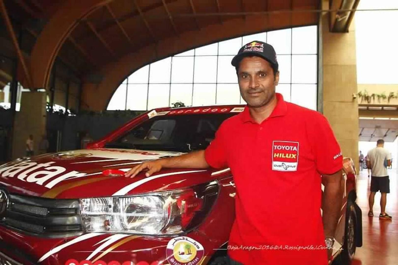 ناصر العطية يتوج بلقب رالي دبي الصحراوي للسيارات