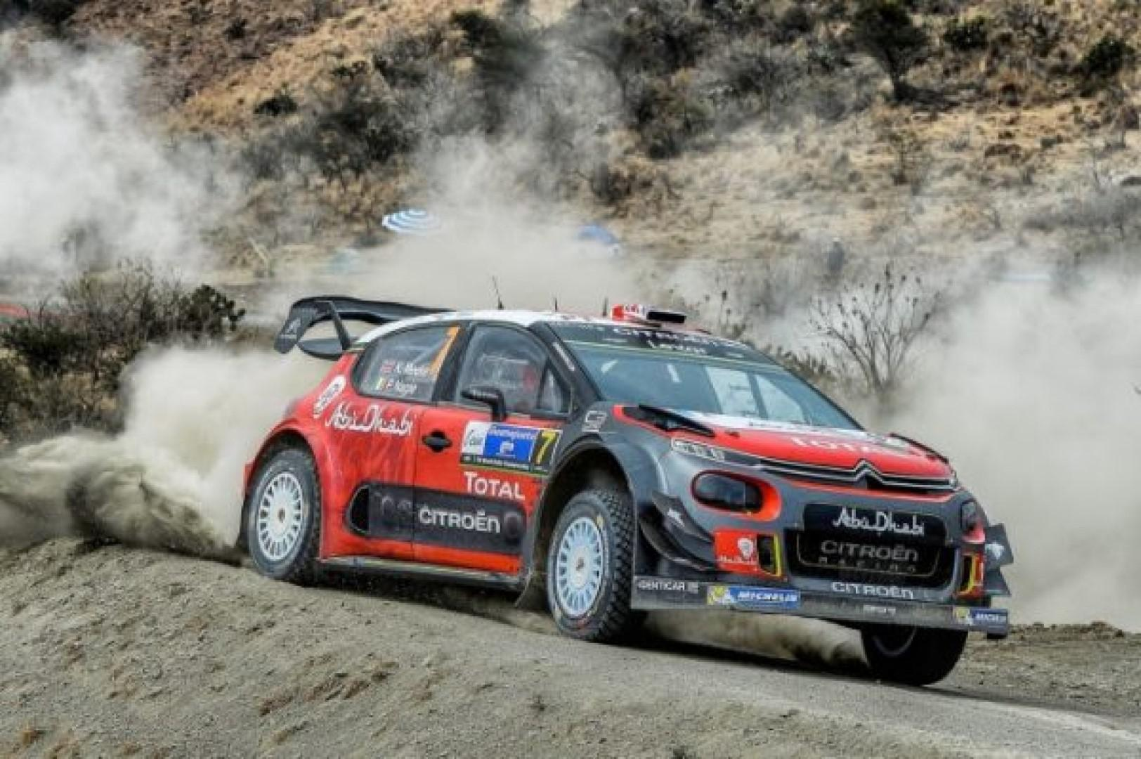Rallye du Mexique : victoire de Kris Meeke (Citroën)