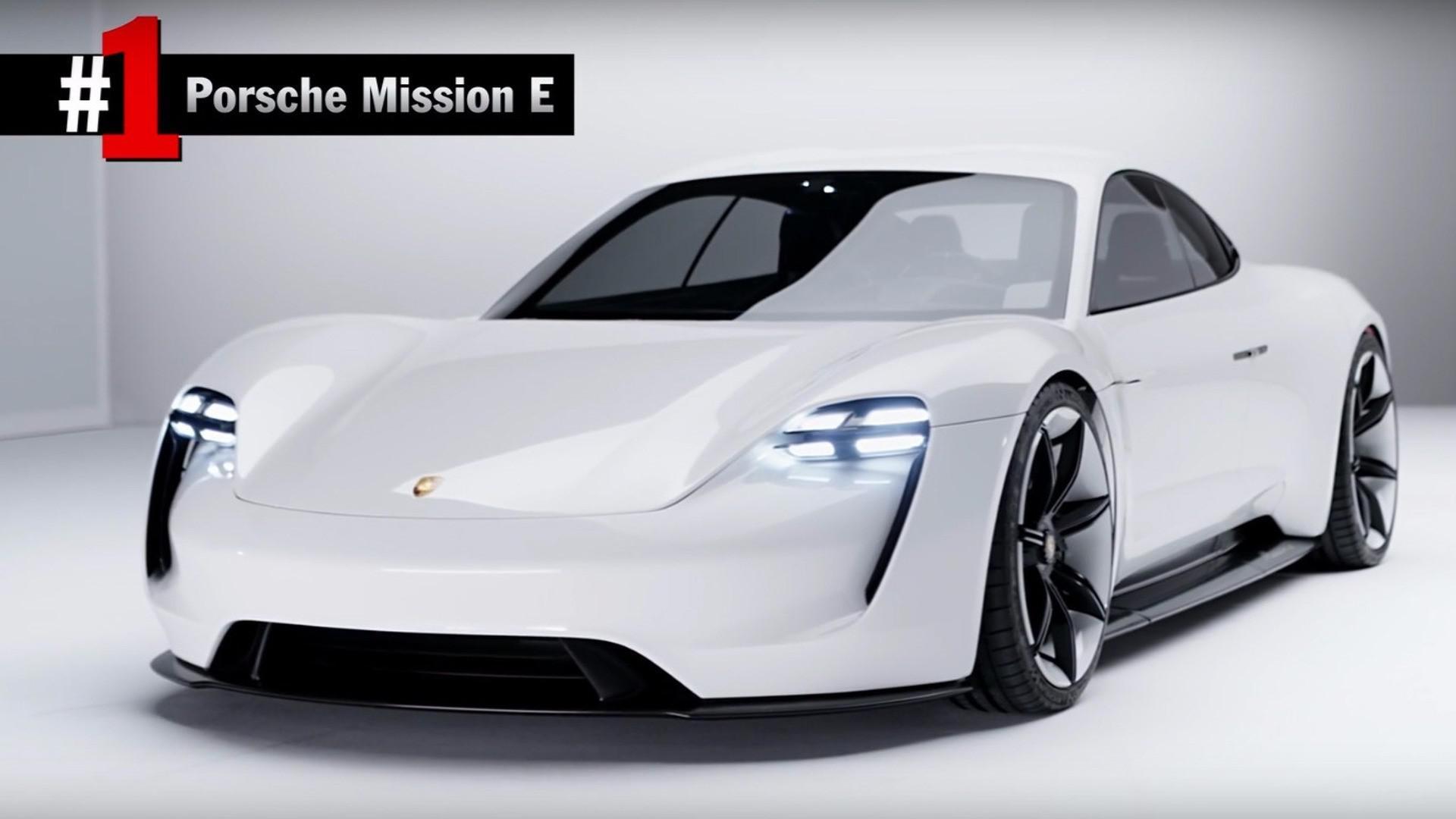 Top 5 des concept-cars Porsche
