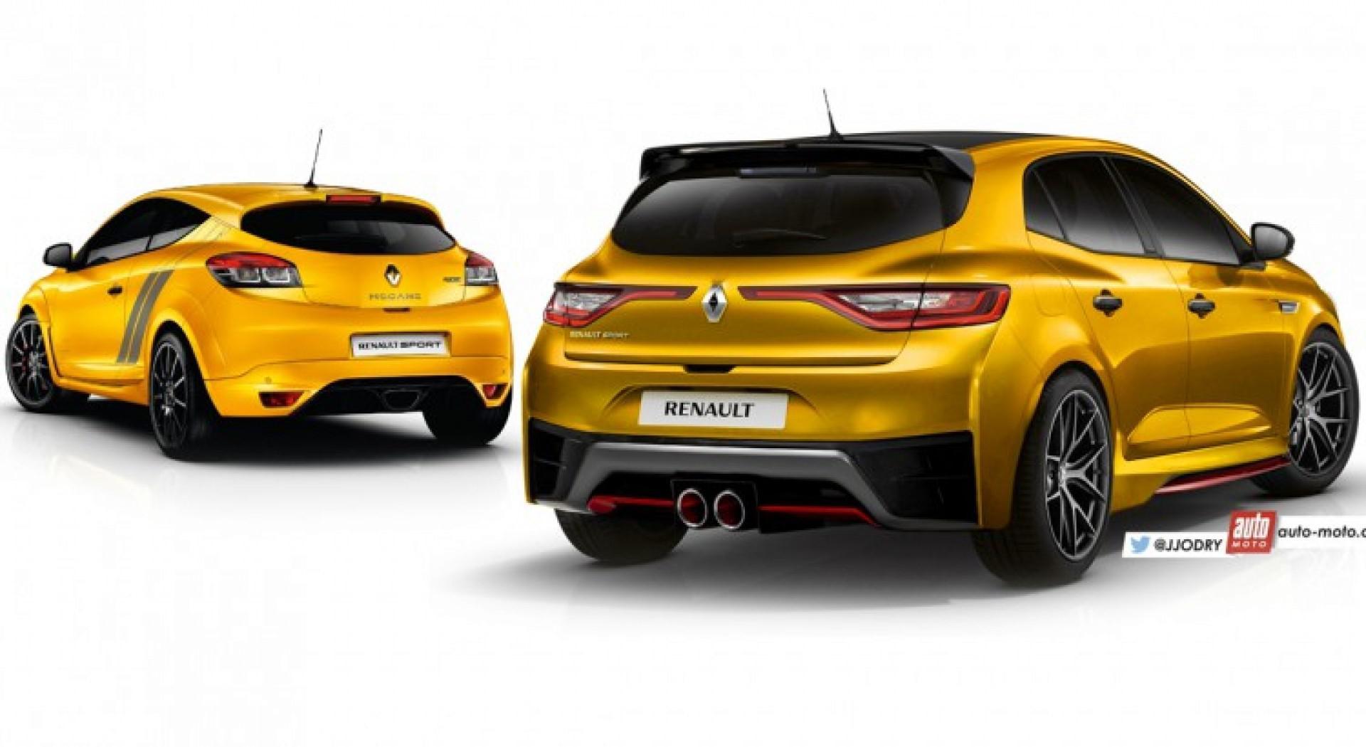Future Renault Mégane 4 RS (2017) : elle aura le moteur de la nouvelle Alpine A110 !