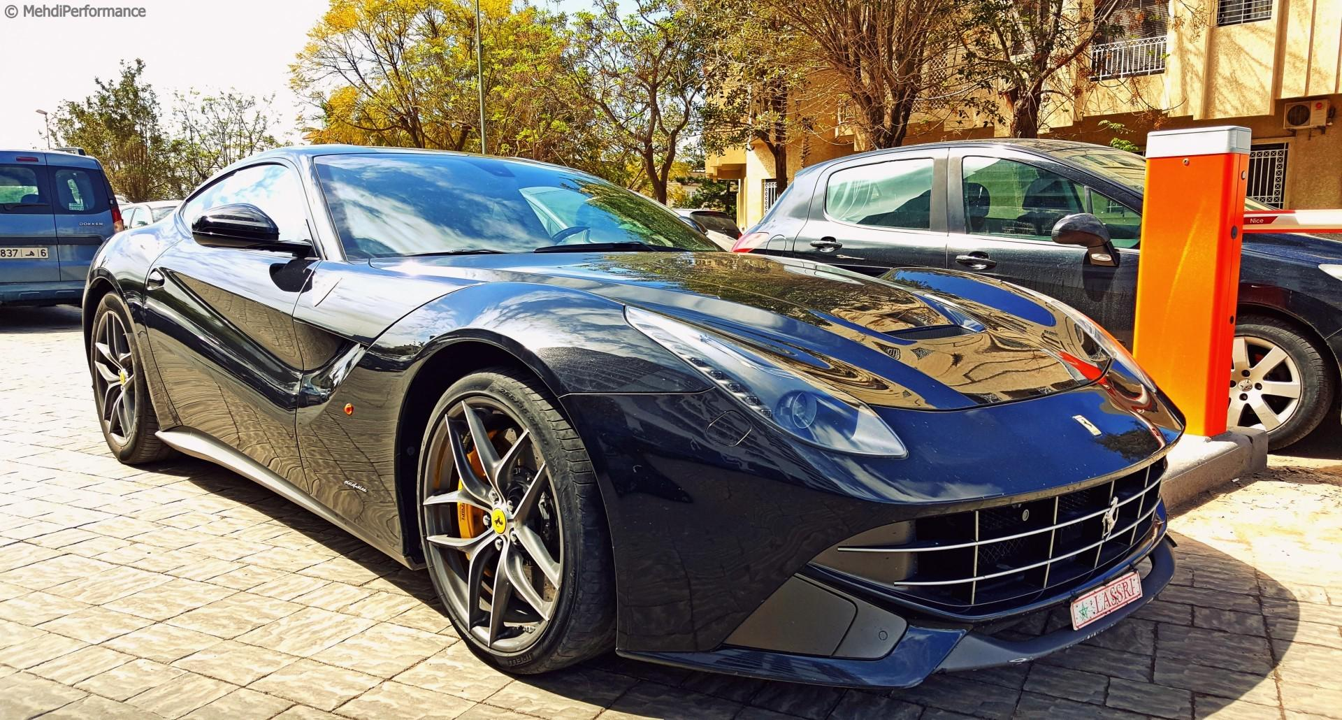 Ferrari F12 Berlinetta : Plaque  spéciale au Maroc !
