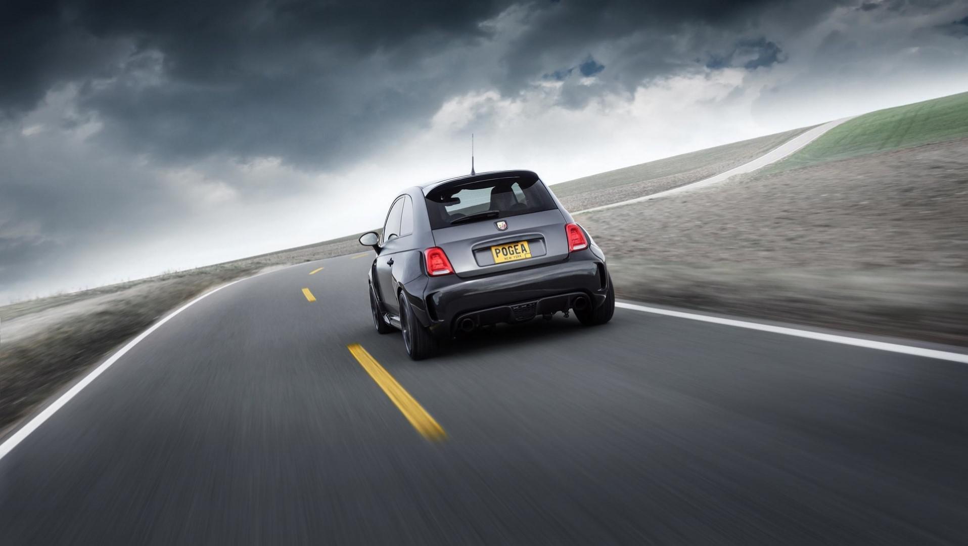 288 km/h en Fiat 500 Abarth  c'est possible ?