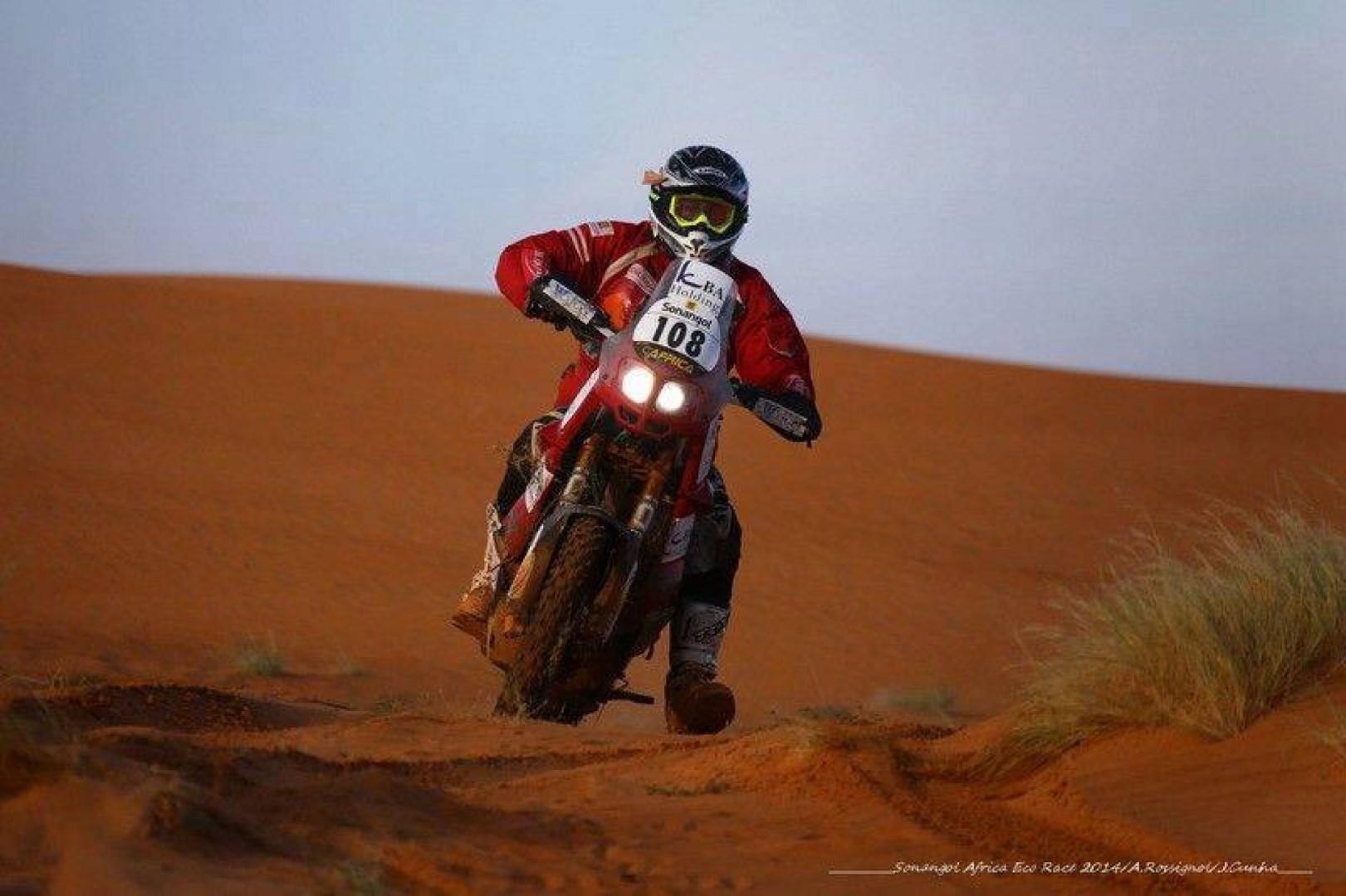Morocco Desert Challenge 2017 البطل حارث كباري يشارك في رالي