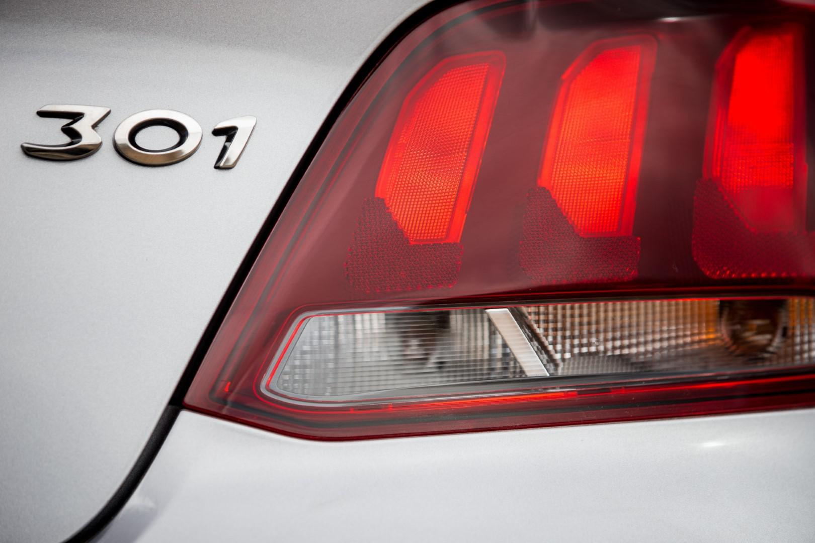 Nouvelle Peugeot 301 restylée