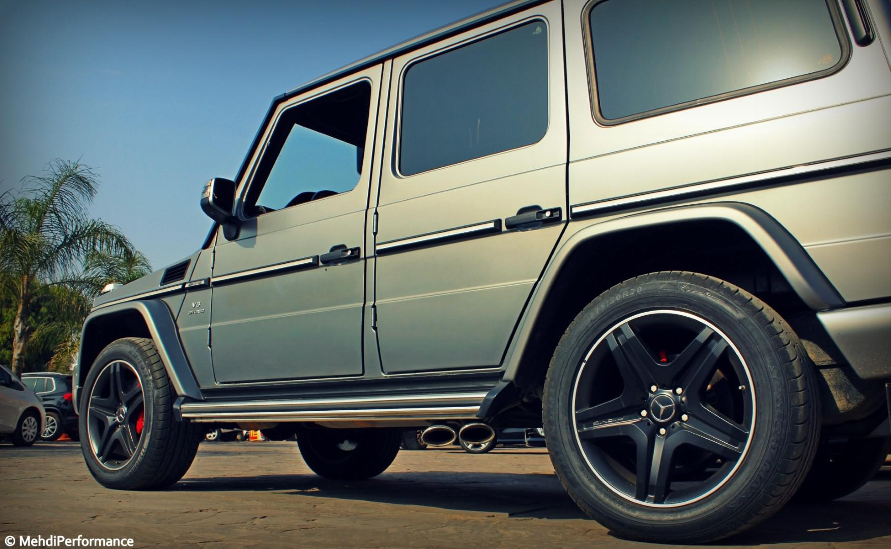 Mercedes-Amg G63 : Un 4×4 de conception antique, catapulté par un V8 biturbo de plus de 500 ch