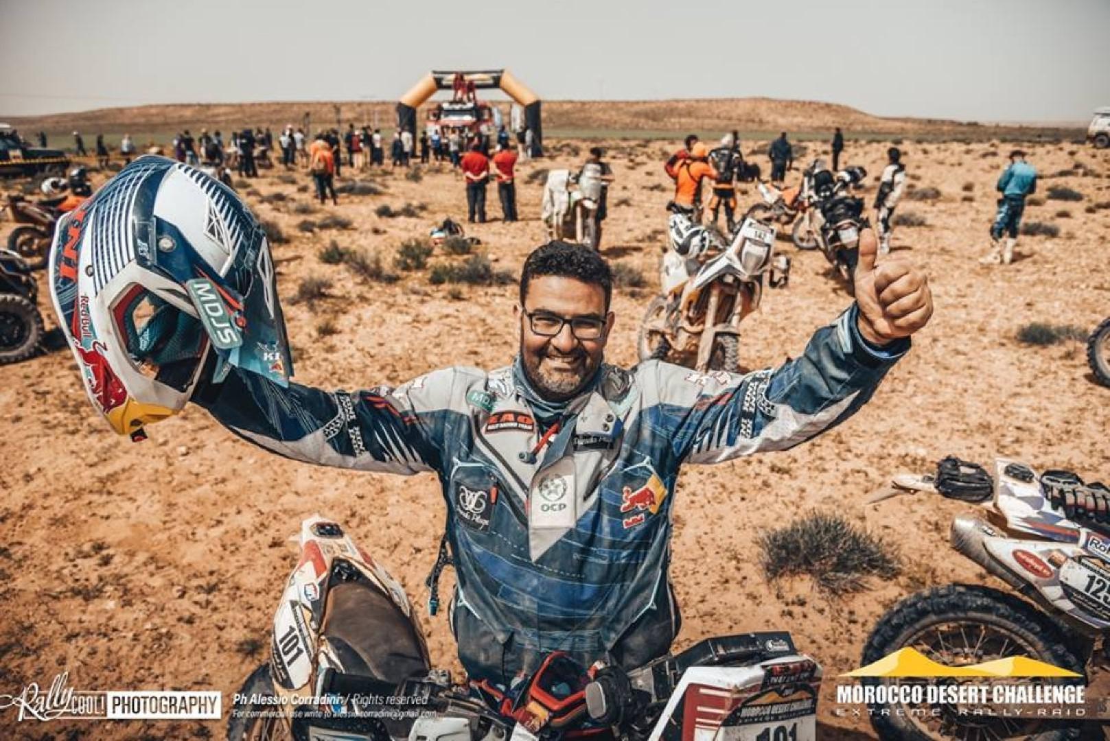 Morocco Desert Challenge : Harite Gabari l'emporte en moto !