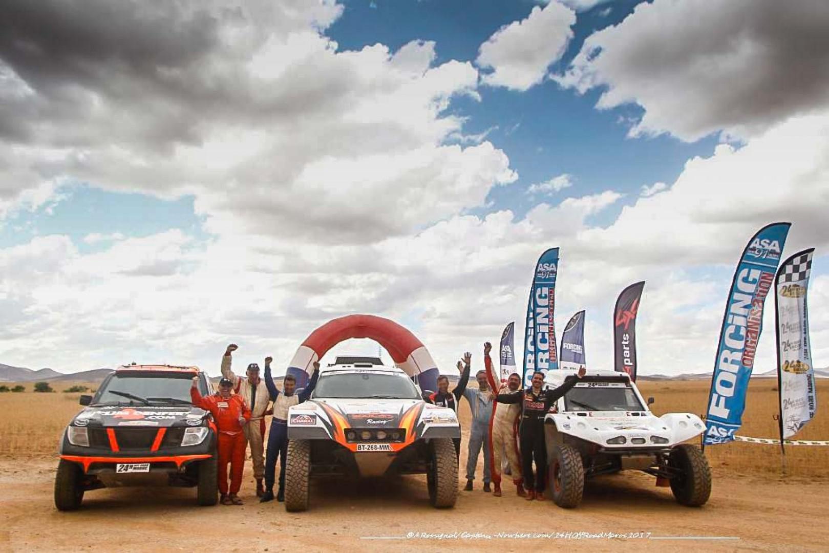 24H Off Road Maroc : Sodicars Racing  remporte la 8° édition