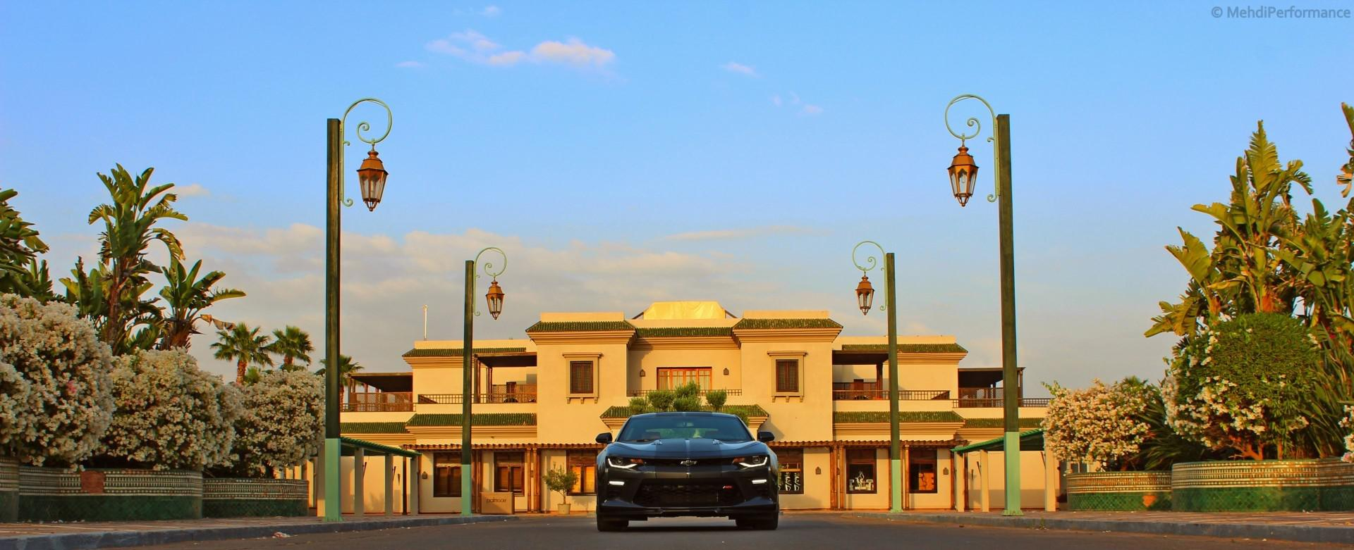 Le premier et le seul exemplaire au Maroc : Chevrolet Camaro Super Sport LT1