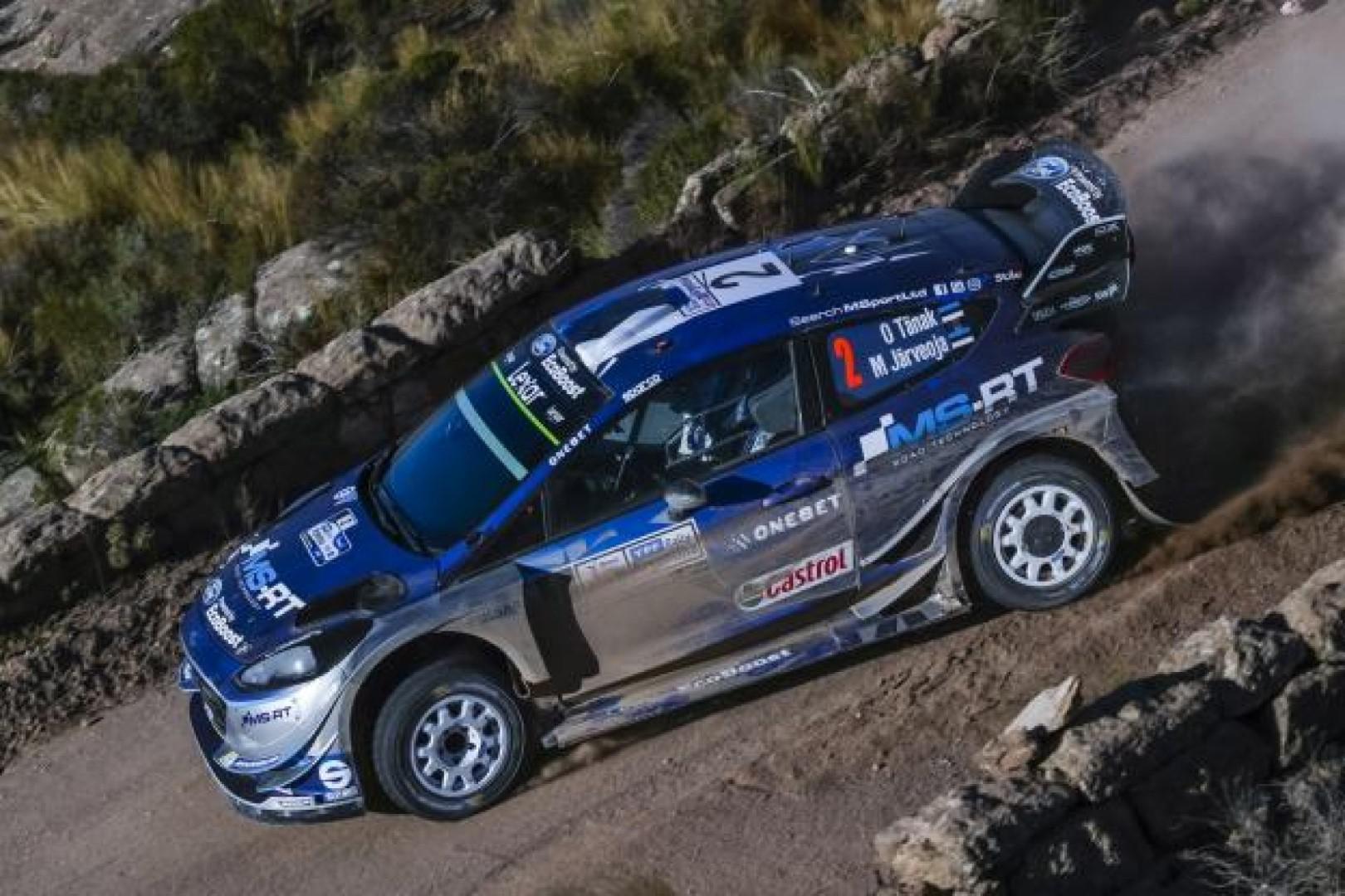 Rallye du Portugal : Ott Tanak leader du rallye.