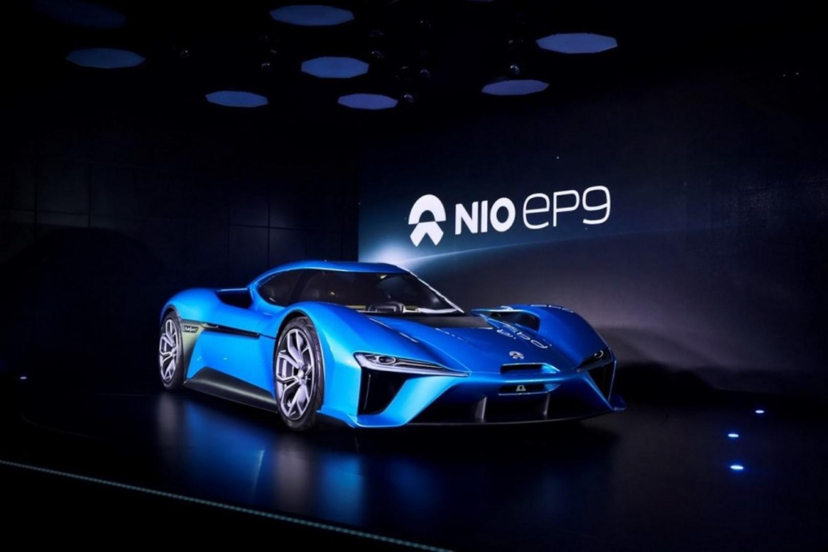 Nio EP9 : la chinoise électrique la plus rapide sur circuit