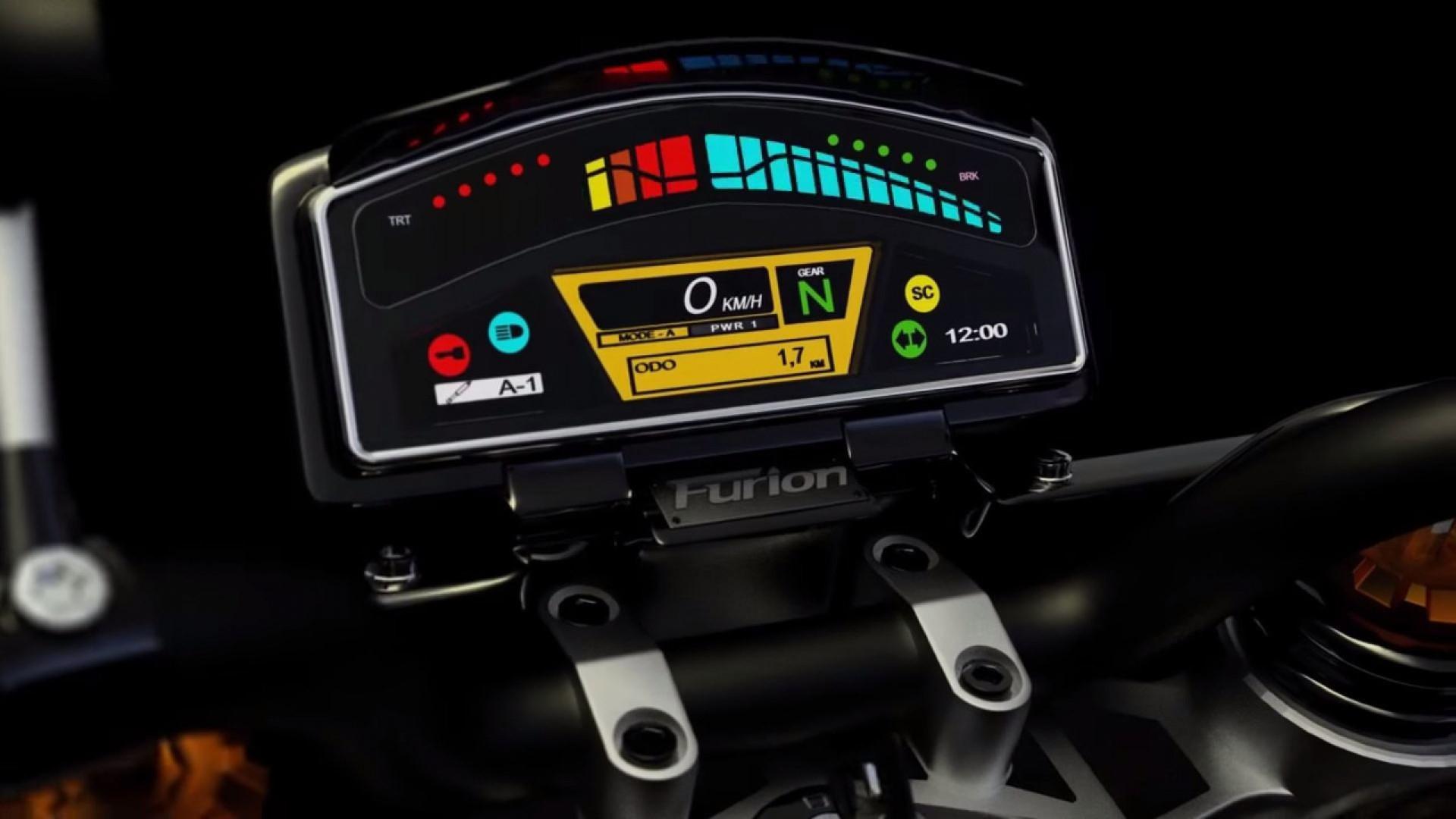 Furion M1 : la moto hybride française