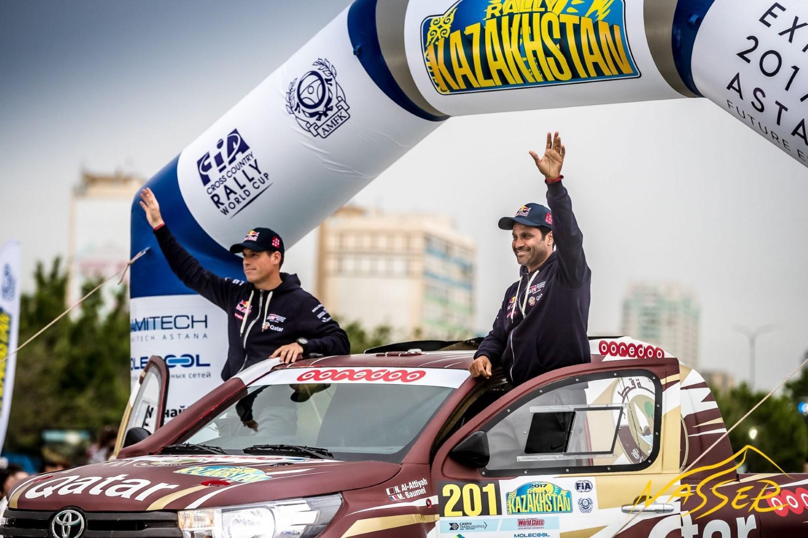Nasser Al-Attiyah remporte le Rallye du Kazakhstan 2017