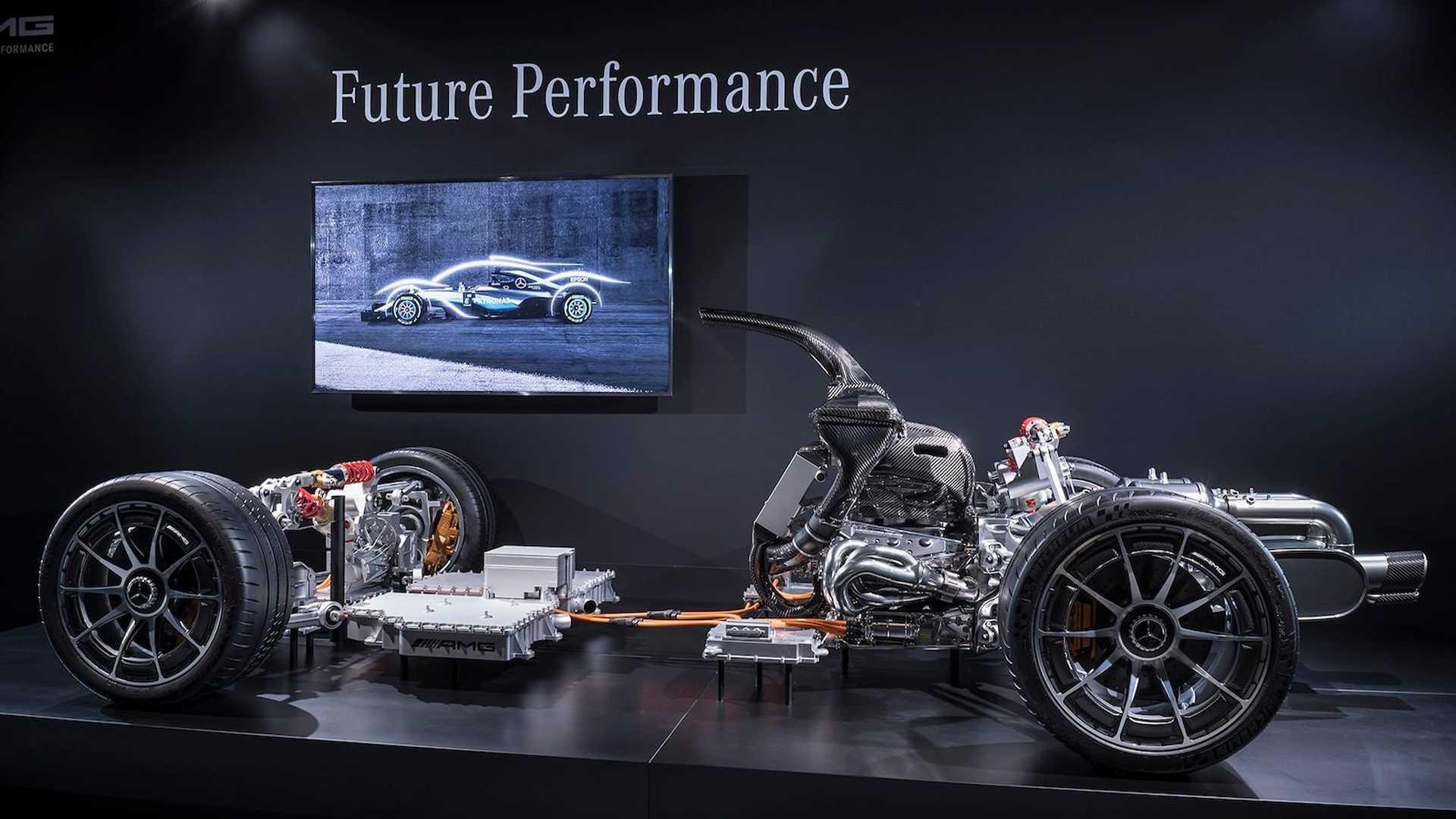 Mercedes-AMG Project One dévoile sa mécanique !