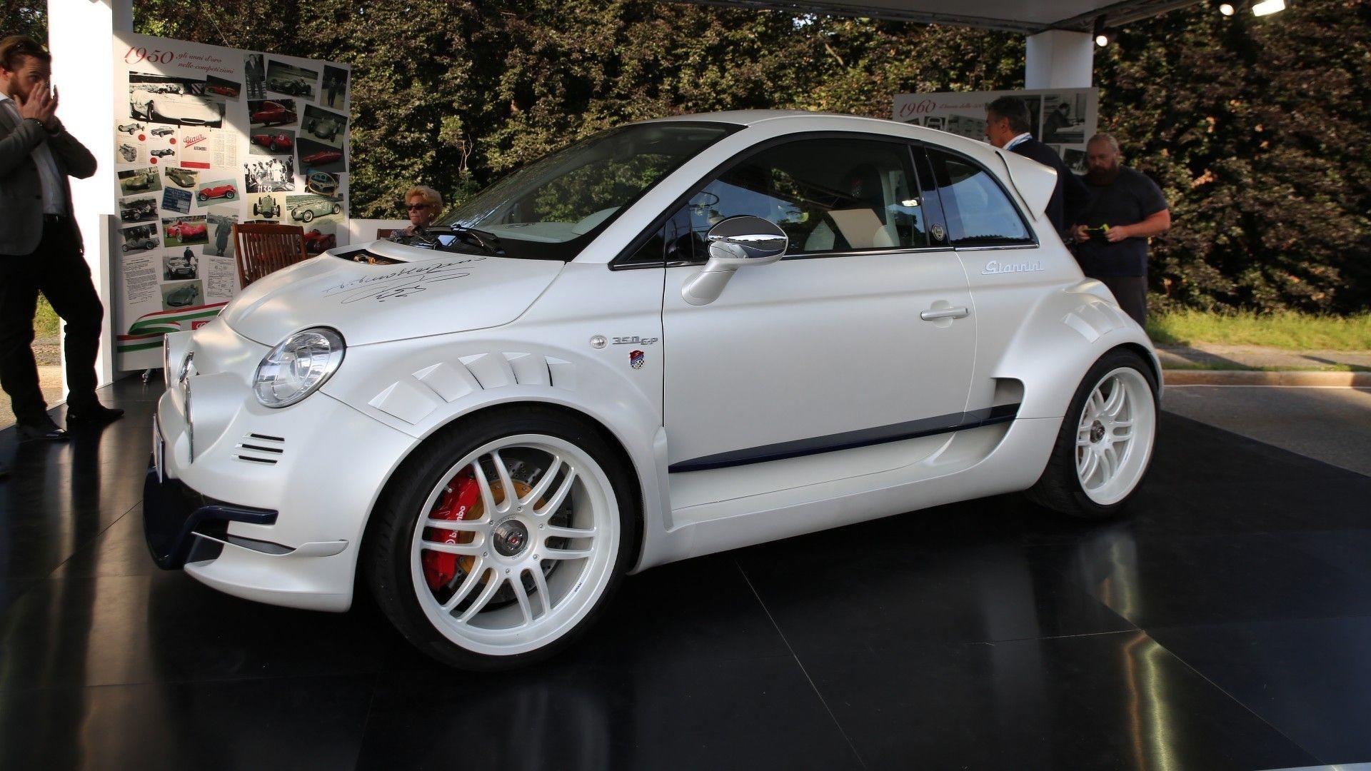 Un moteur Alfa Romeo de 350 chevaux sur une Fiat 500 ?