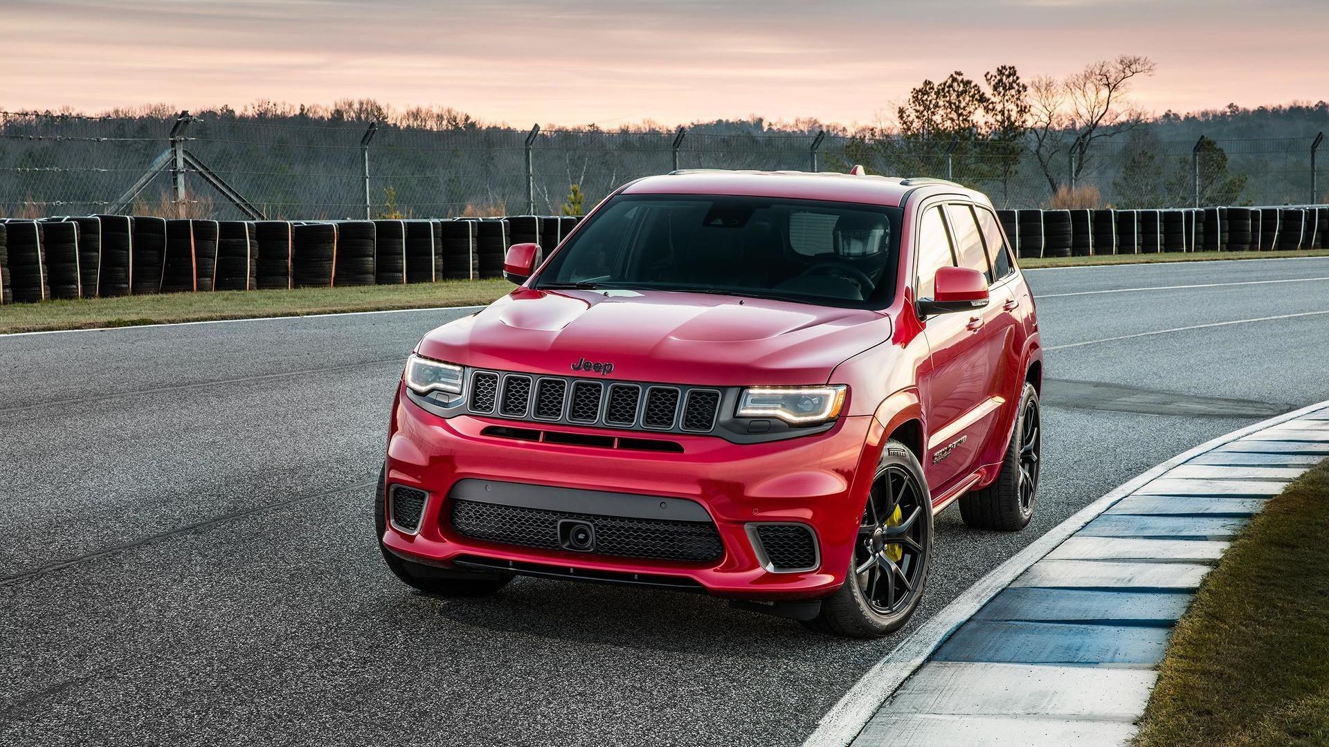 Plus de 1000 ch  pour le Jeep Grand Cherokee Trackhawk