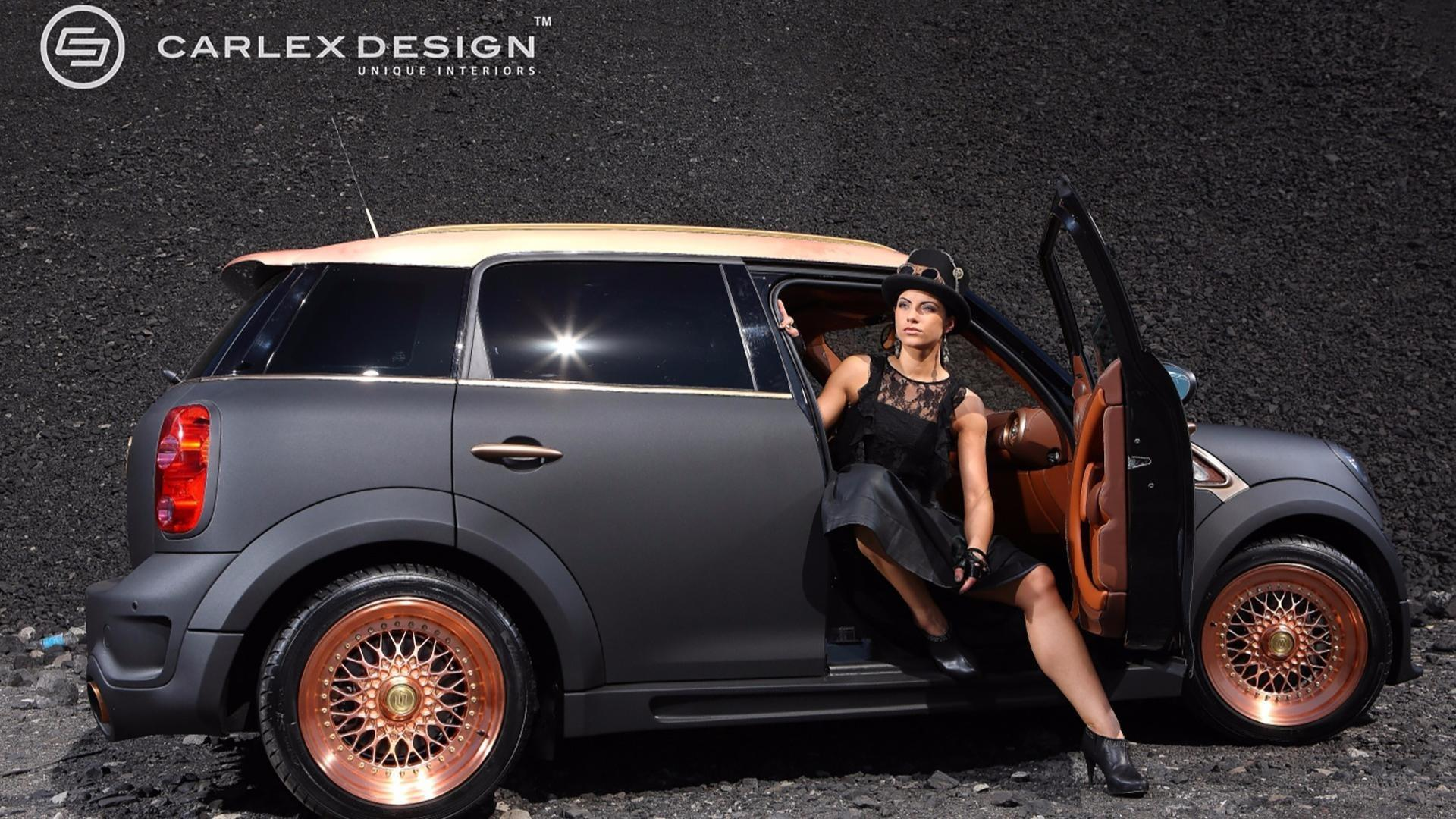 Luxueux Mini Countryman par Carlex Design .