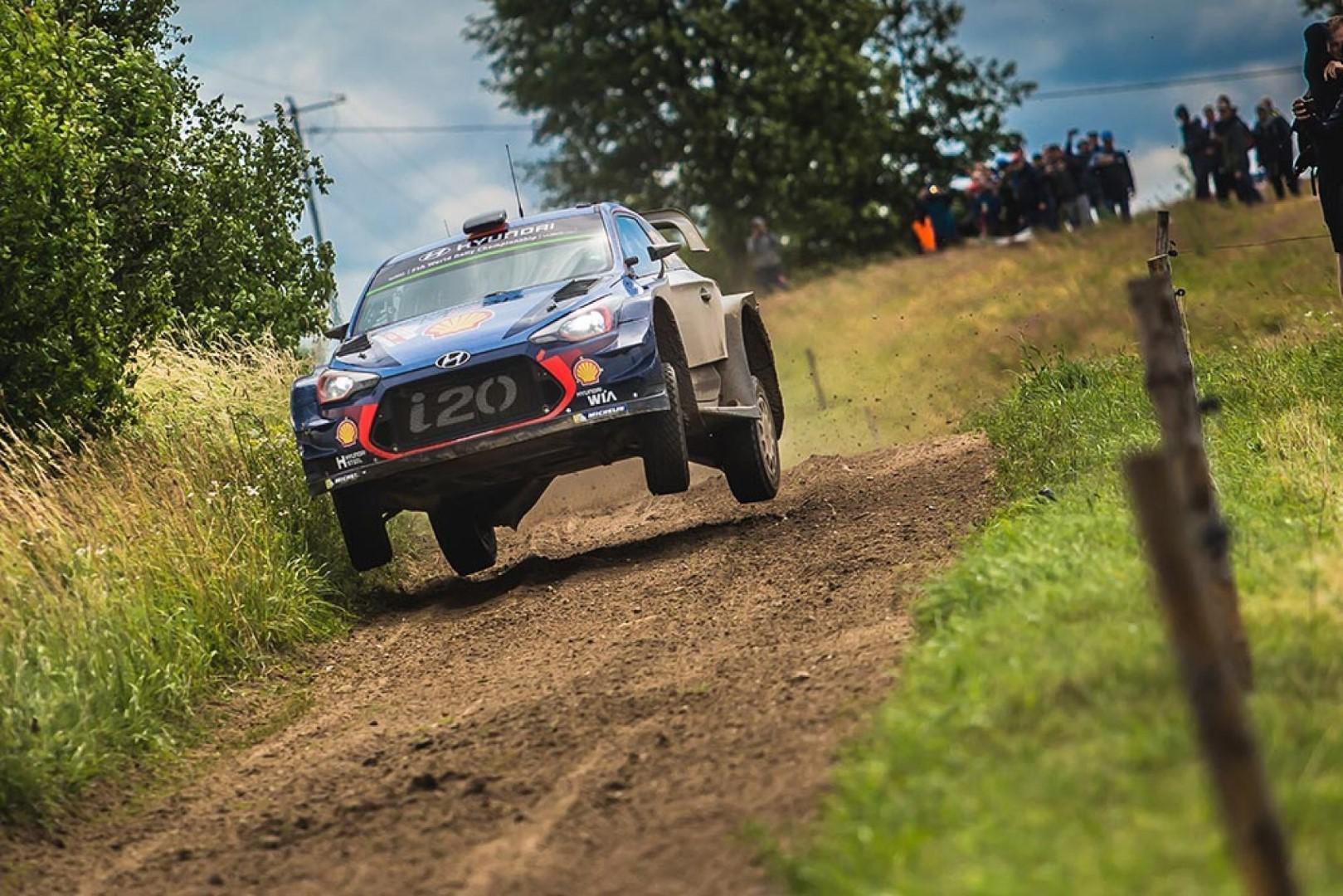 Rallye de Pologne : Thierry Neuville reprend les commandes du rallye