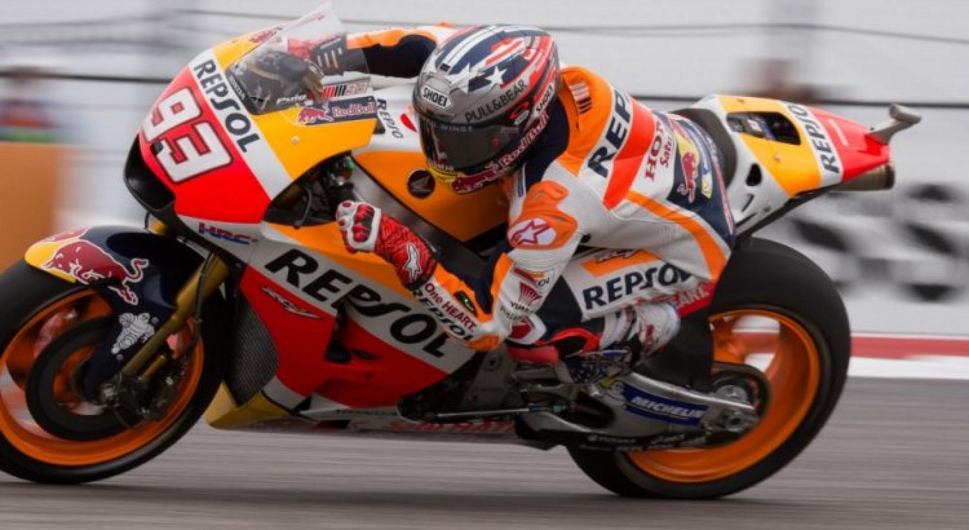 Marquez en pole au GP d'Allemagne, Rossi 9ème